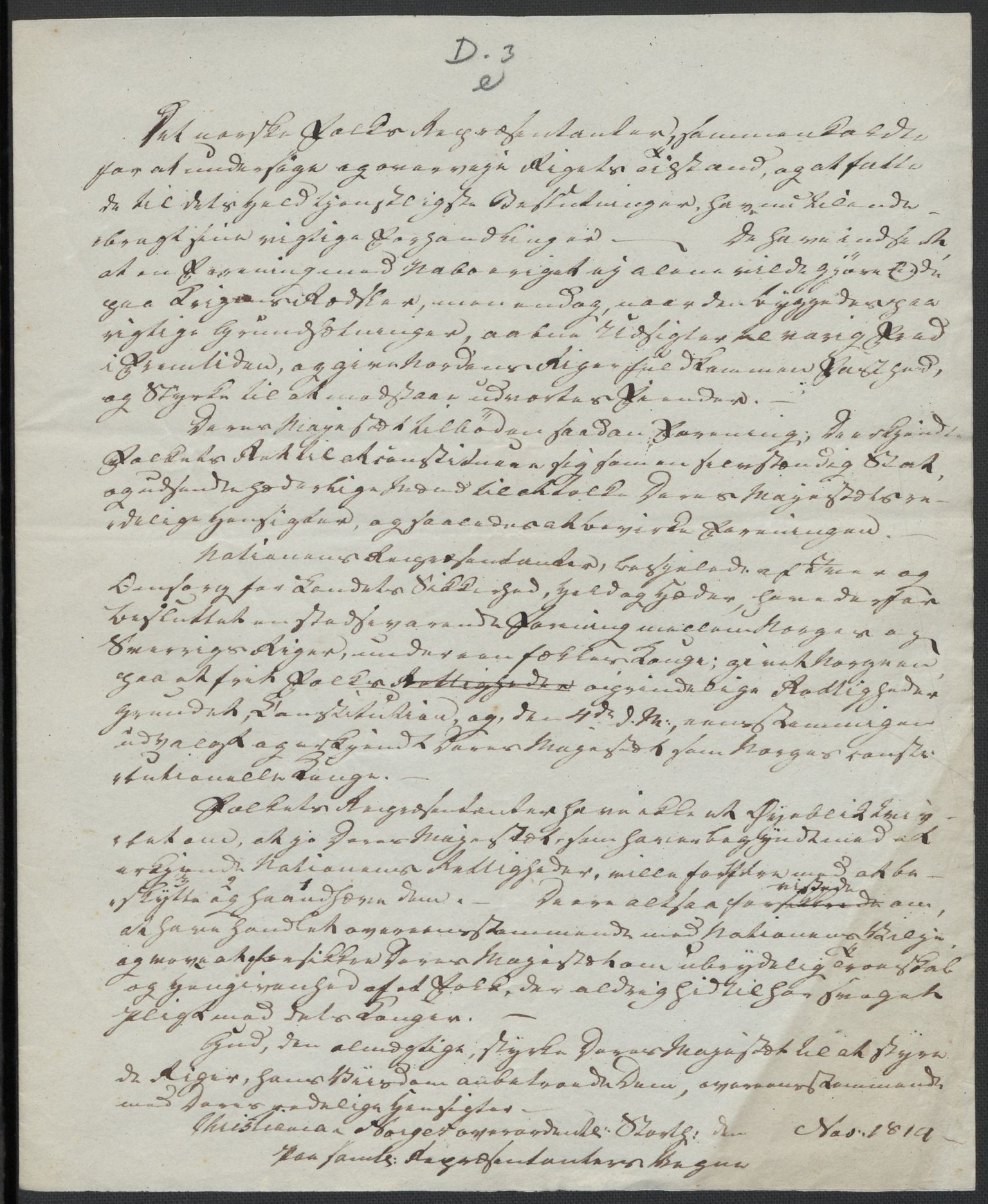 RA, Christie, Wilhelm Frimann Koren, F/L0004, 1814, s. 210
