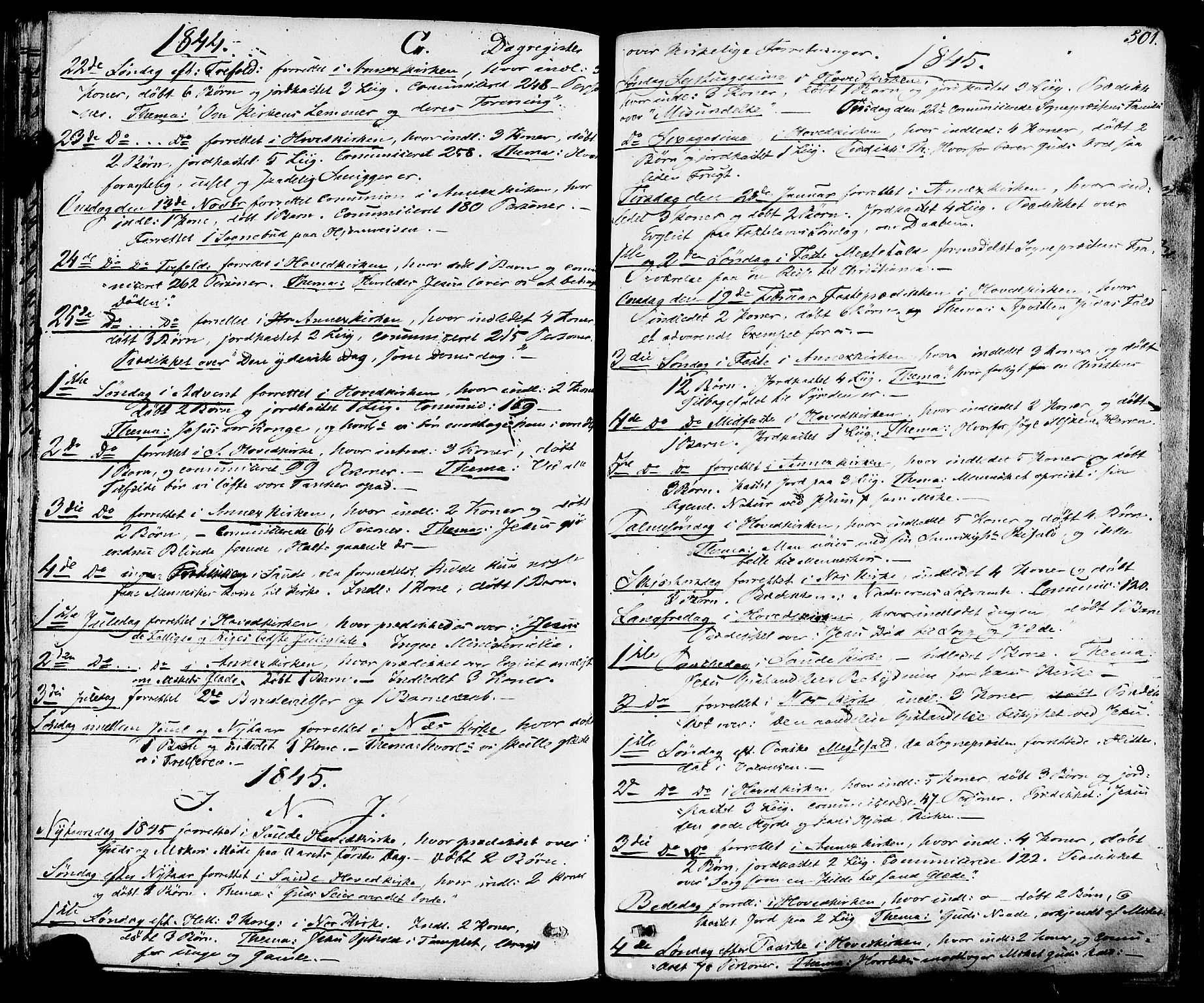 SAKO, Sauherad kirkebøker, F/Fa/L0006: Ministerialbok nr. I 6, 1827-1850, s. 501