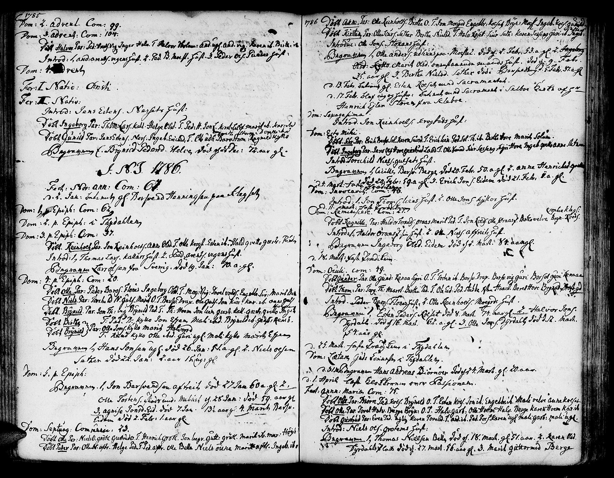 SAT, Ministerialprotokoller, klokkerbøker og fødselsregistre - Sør-Trøndelag, 695/L1138: Ministerialbok nr. 695A02 /1, 1757-1801, s. 118