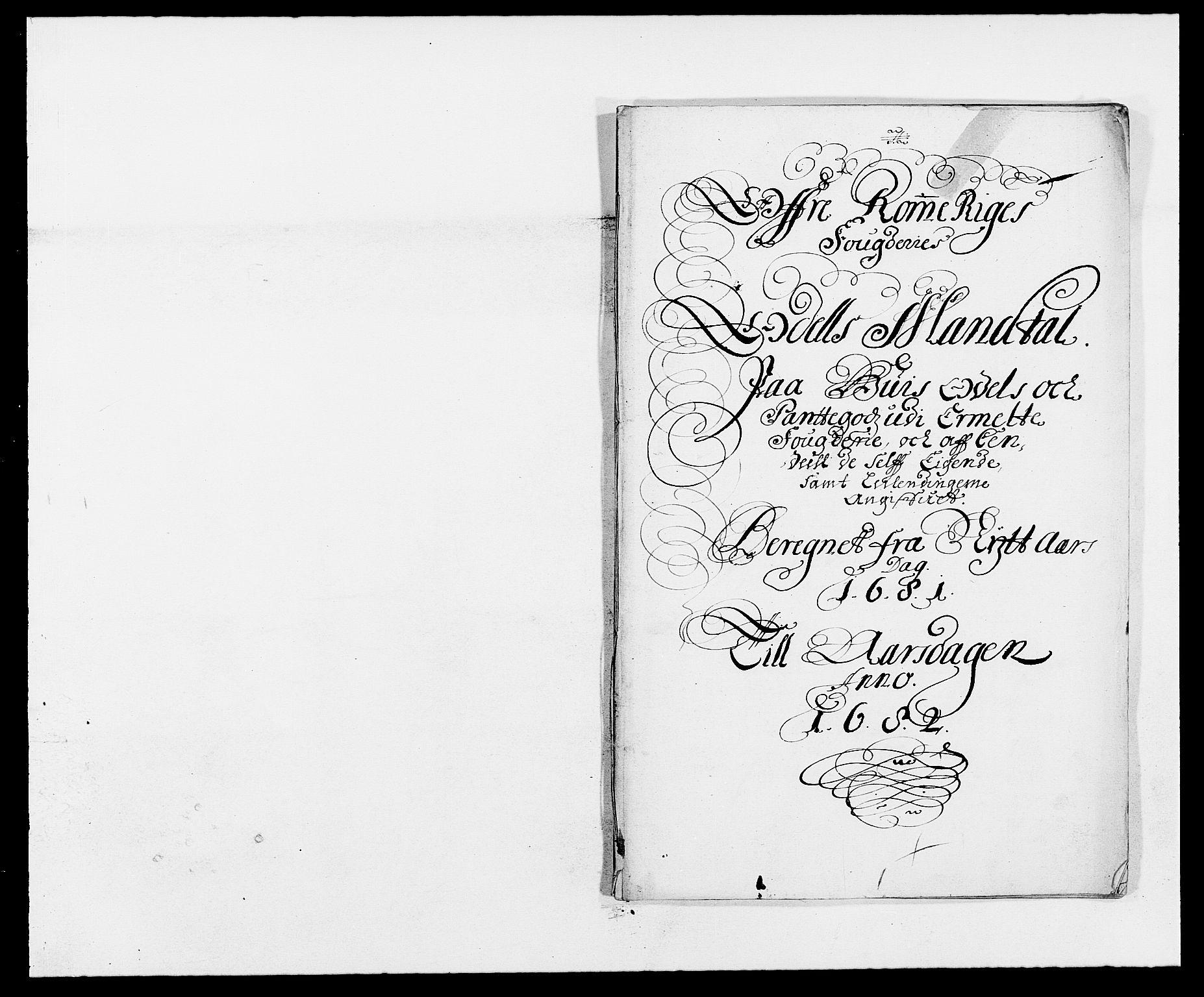 RA, Rentekammeret inntil 1814, Reviderte regnskaper, Fogderegnskap, R12/L0696: Fogderegnskap Øvre Romerike, 1681, s. 189