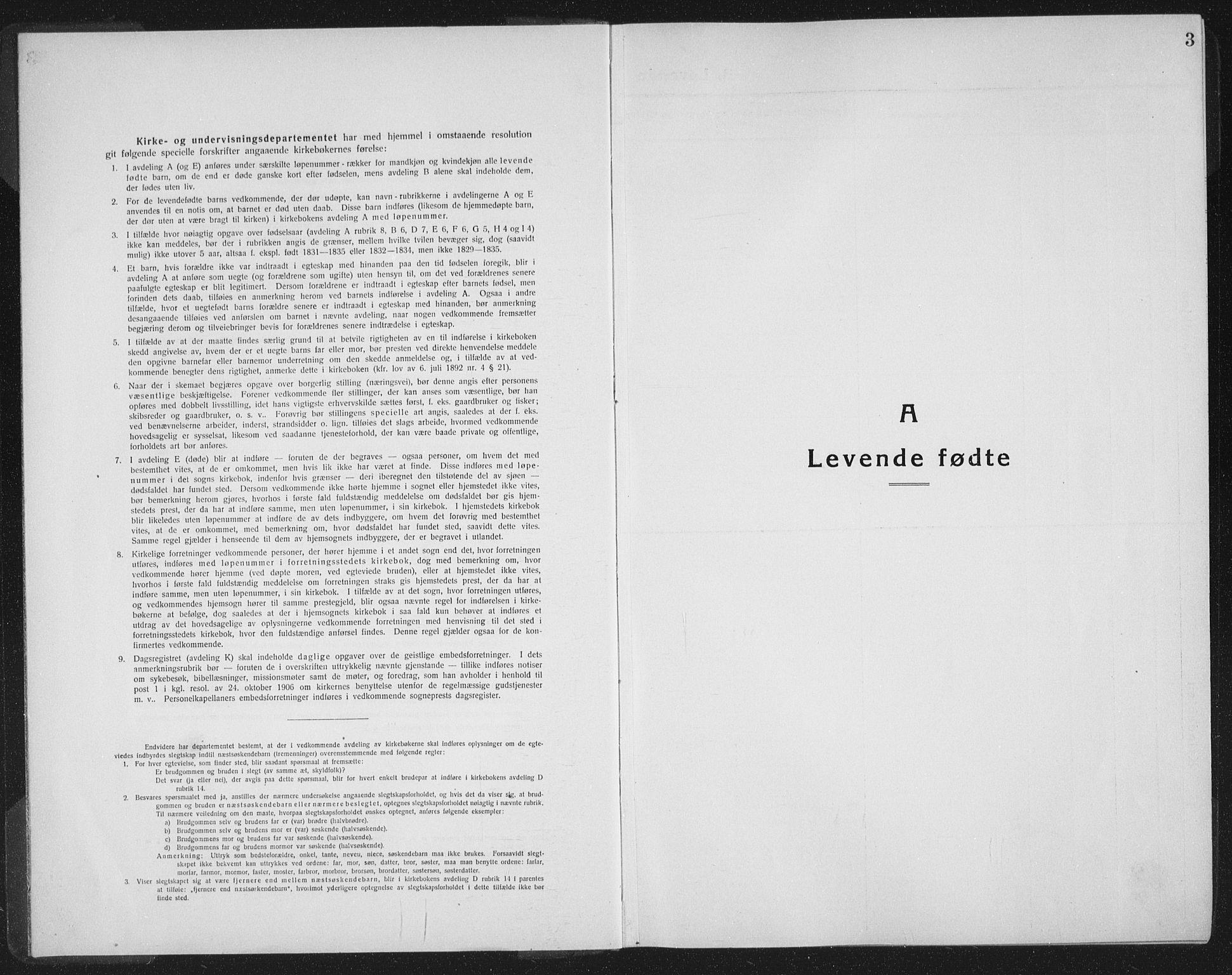 SAT, Ministerialprotokoller, klokkerbøker og fødselsregistre - Sør-Trøndelag, 665/L0778: Klokkerbok nr. 665C03, 1916-1938, s. 3