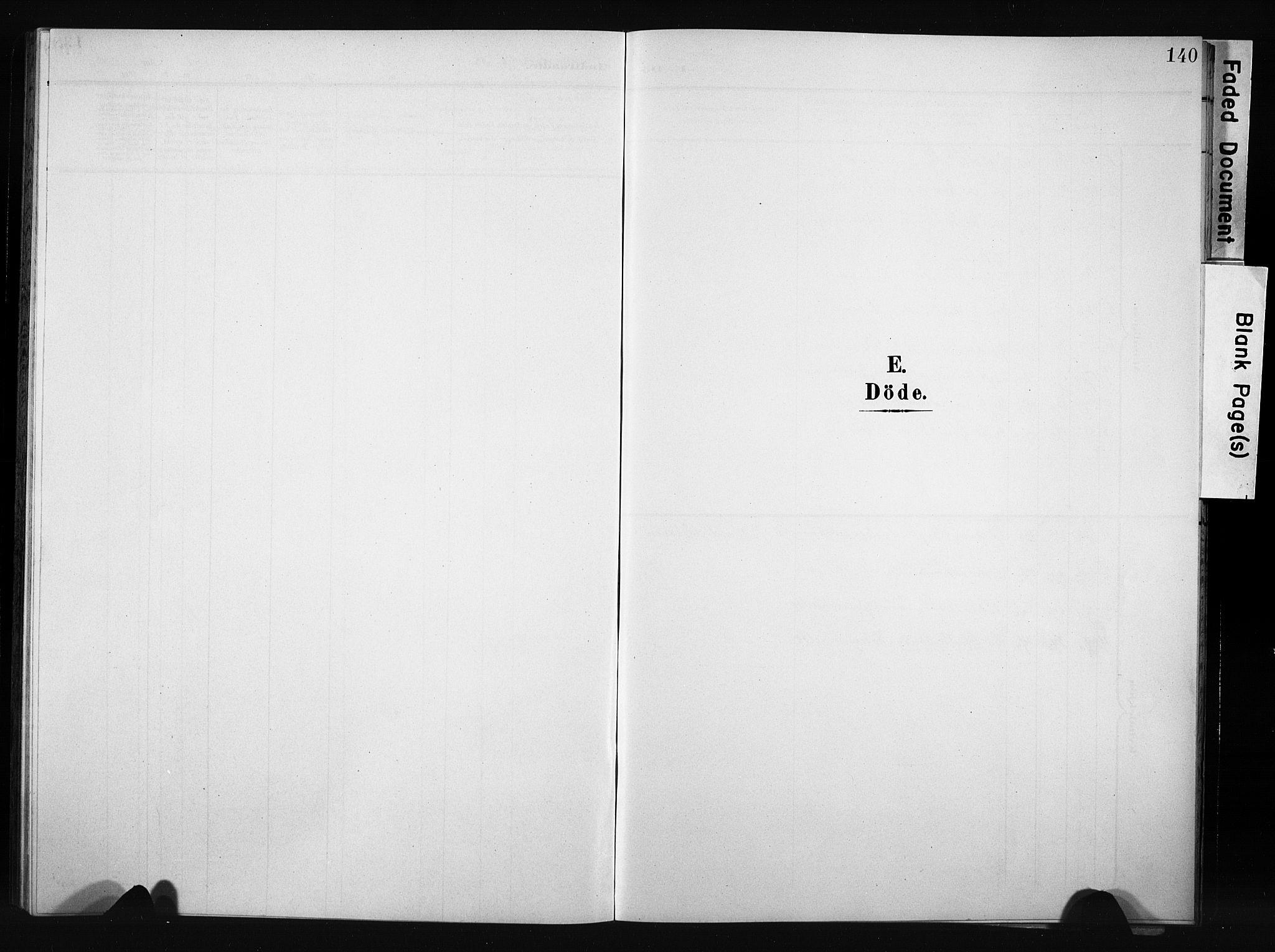SAH, Nordre Land prestekontor, Klokkerbok nr. 6, 1905-1929, s. 140