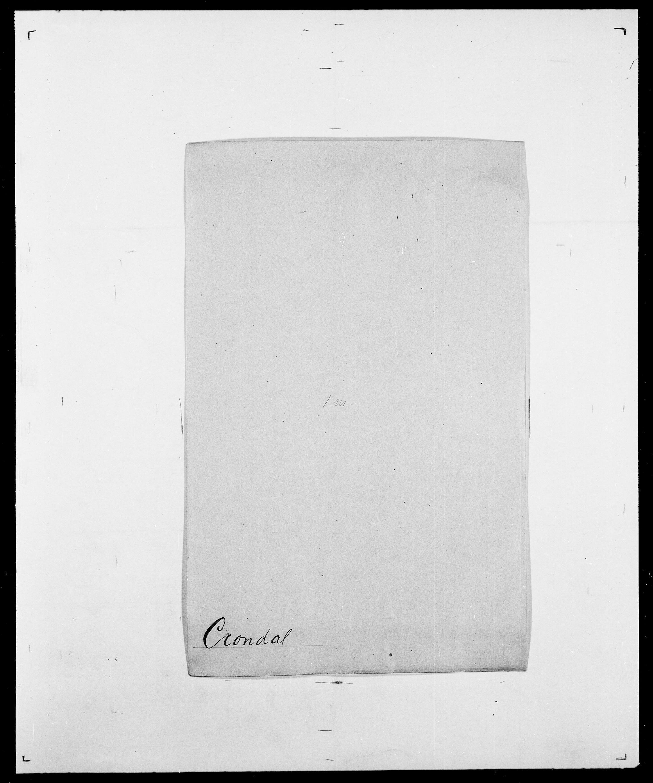 SAO, Delgobe, Charles Antoine - samling, D/Da/L0008: Capjon - Dagenbolt, s. 618