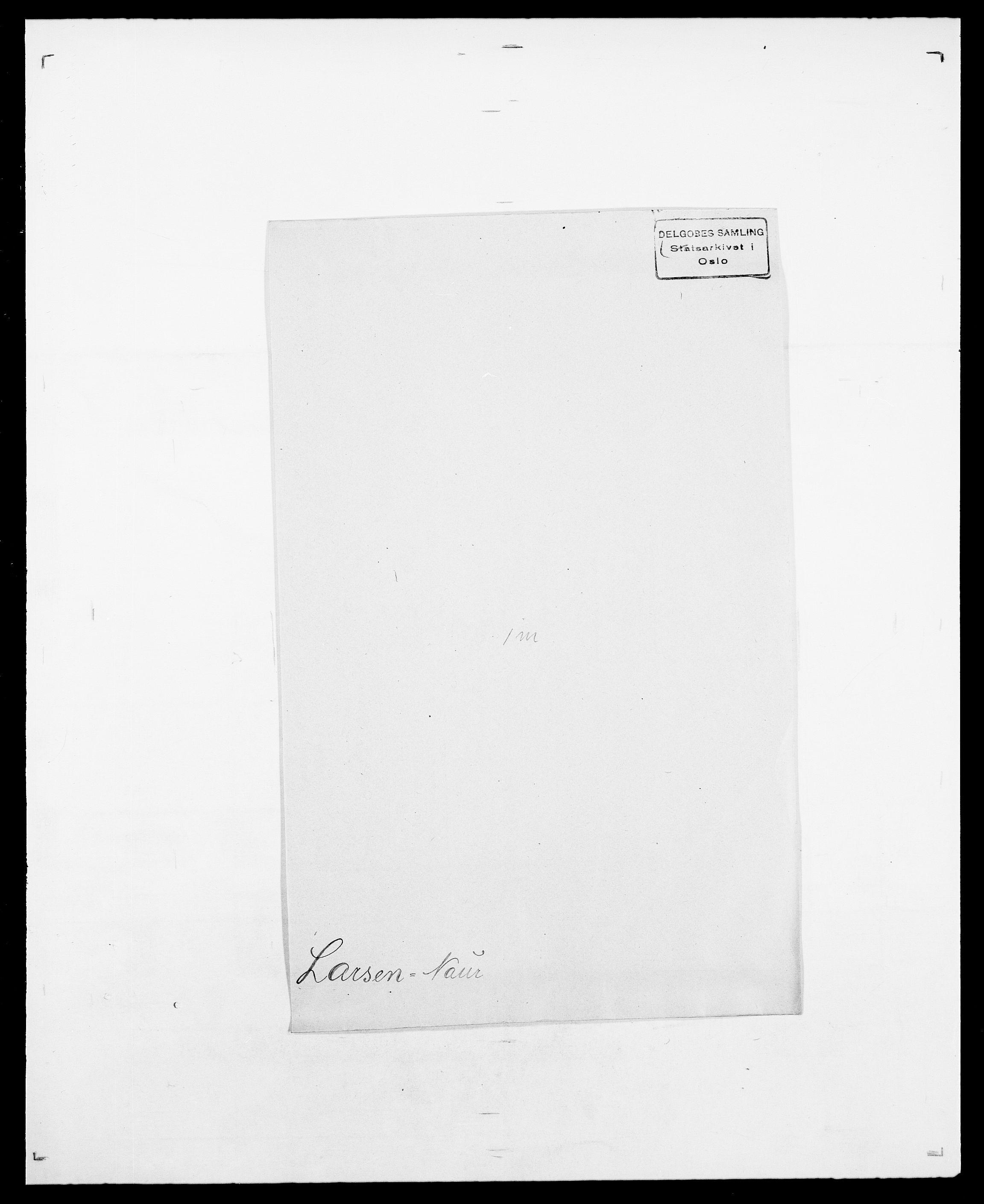 SAO, Delgobe, Charles Antoine - samling, D/Da/L0022: Krog - Lasteen, s. 796