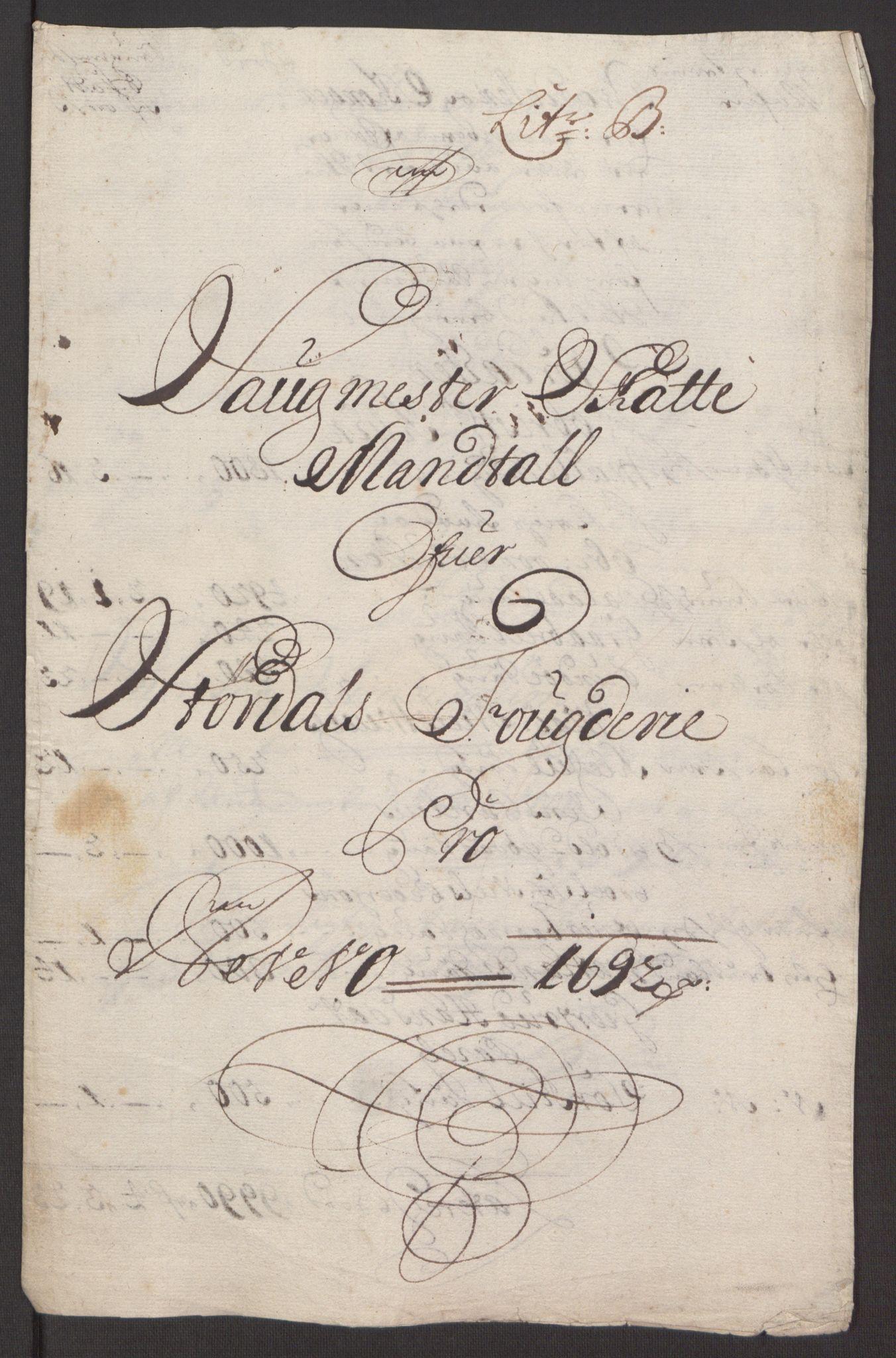RA, Rentekammeret inntil 1814, Reviderte regnskaper, Fogderegnskap, R62/L4185: Fogderegnskap Stjørdal og Verdal, 1692, s. 84