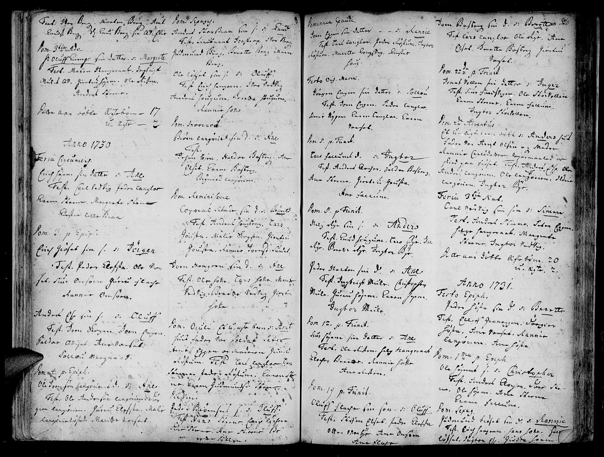 SAT, Ministerialprotokoller, klokkerbøker og fødselsregistre - Sør-Trøndelag, 612/L0368: Ministerialbok nr. 612A02, 1702-1753, s. 26