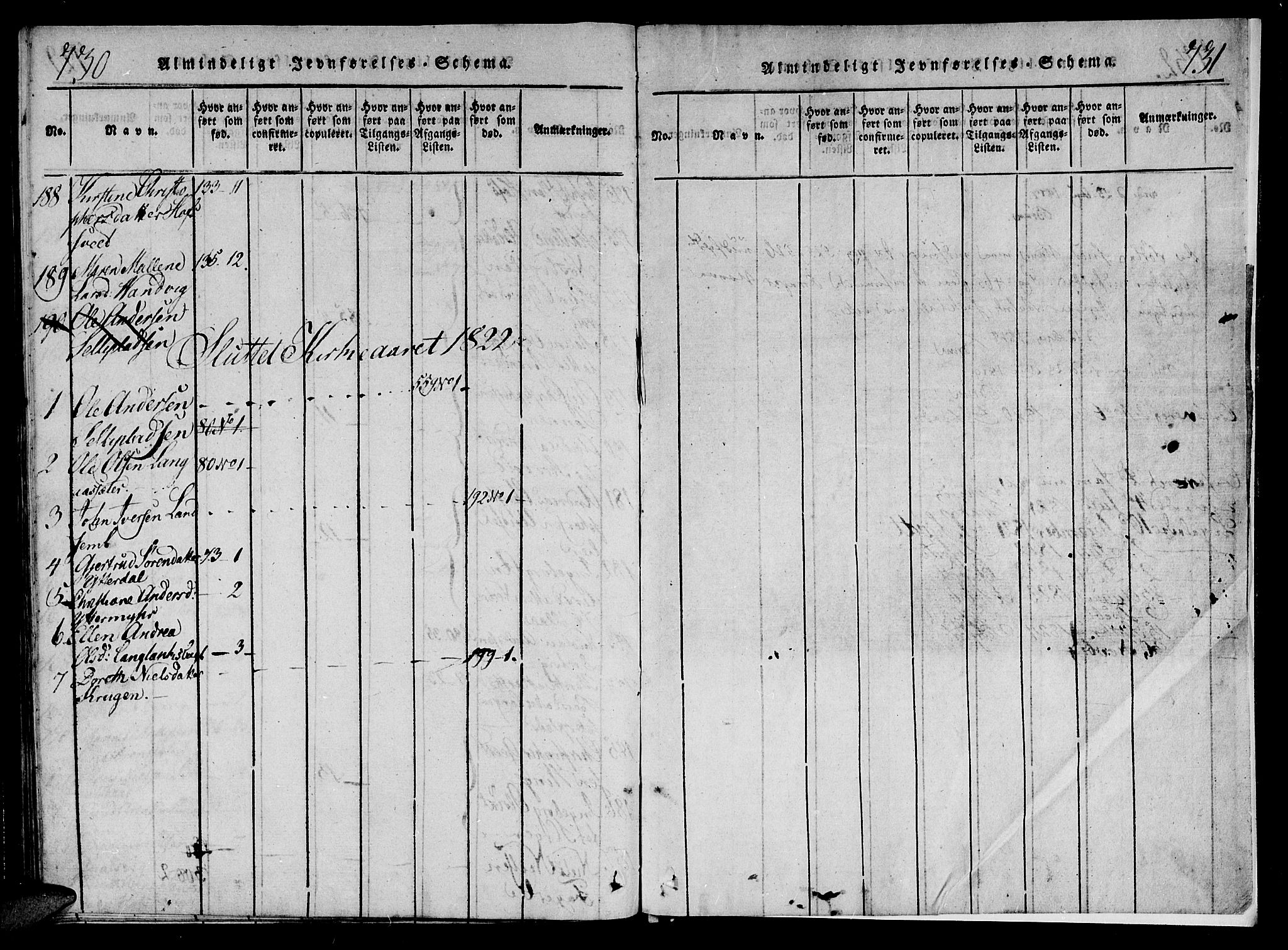 SAT, Ministerialprotokoller, klokkerbøker og fødselsregistre - Nord-Trøndelag, 701/L0005: Ministerialbok nr. 701A05 /1, 1816-1825, s. 730-731