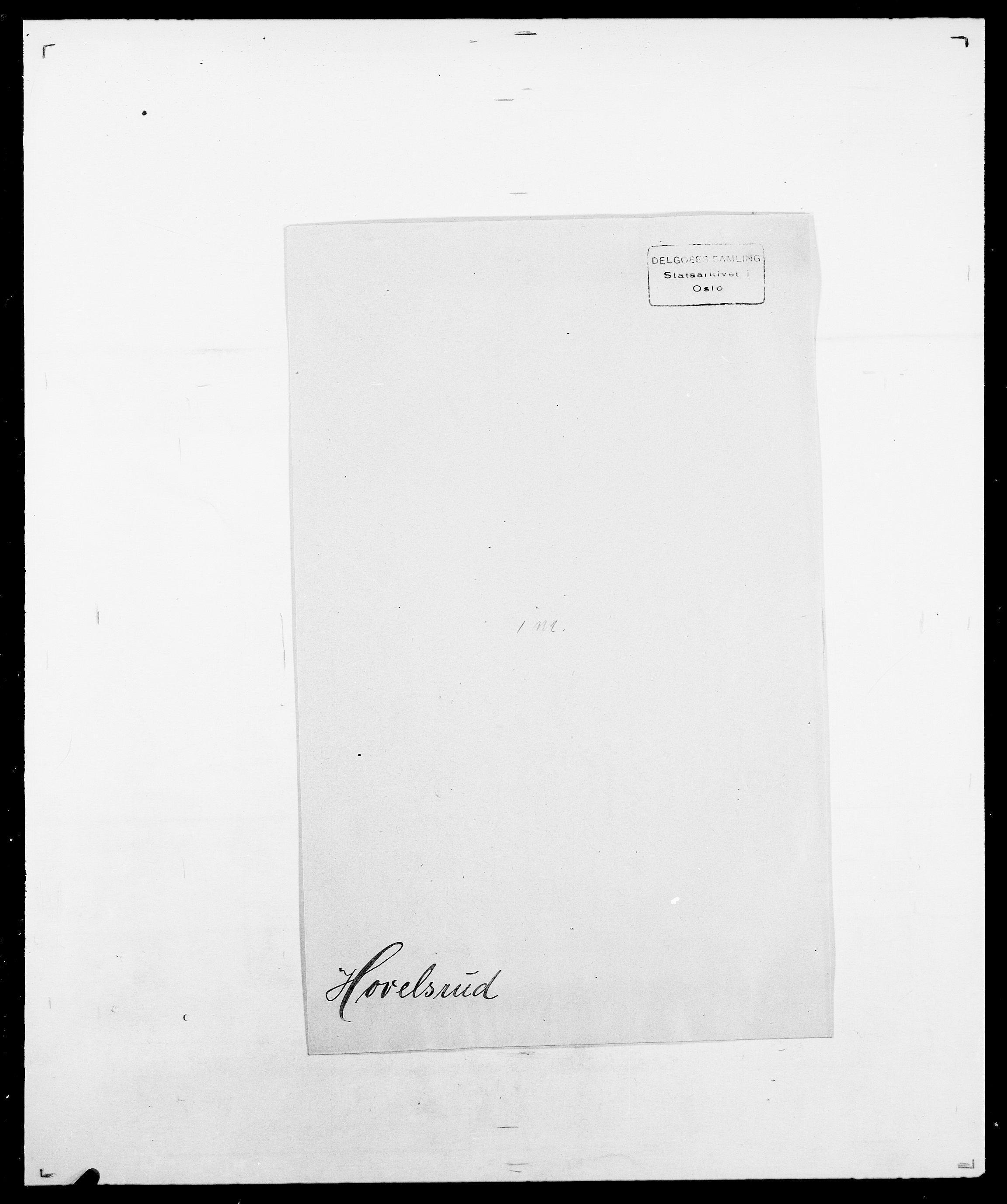 SAO, Delgobe, Charles Antoine - samling, D/Da/L0018: Hoch - Howert, s. 1042
