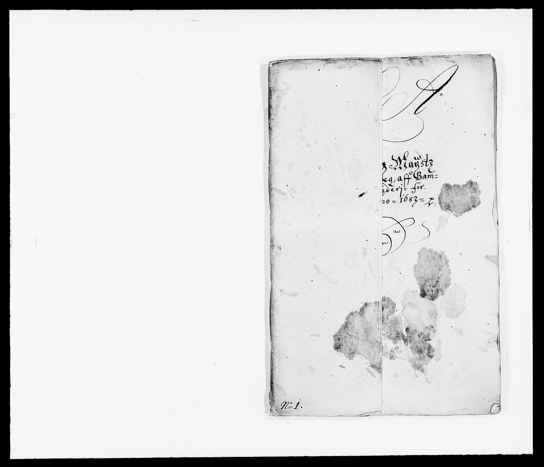 RA, Rentekammeret inntil 1814, Reviderte regnskaper, Fogderegnskap, R34/L2046: Fogderegnskap Bamble, 1682-1683, s. 237
