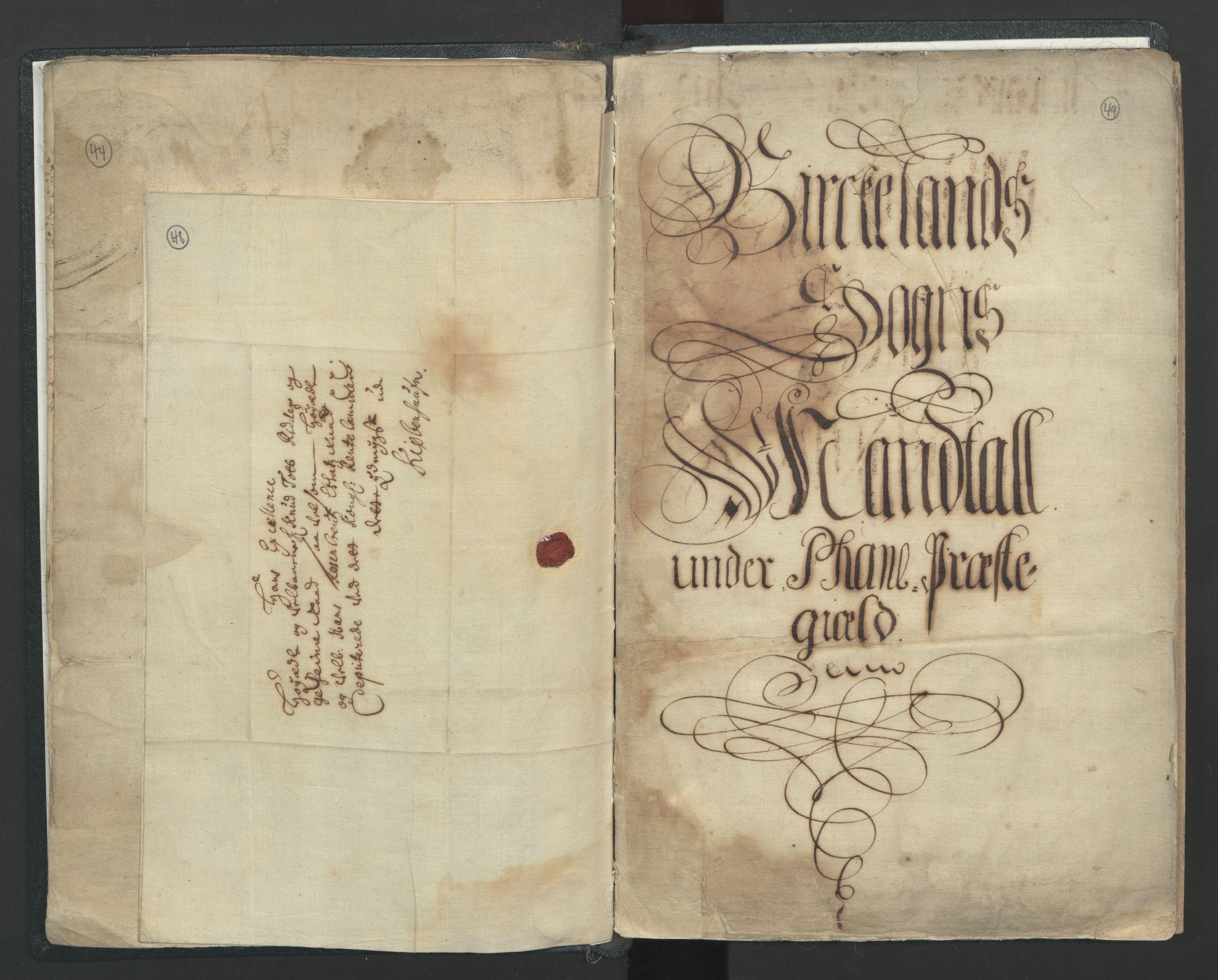 RA, Manntallet 1701, nr. 7: Nordhordland og Voss fogderi, 1701, s. 48-49