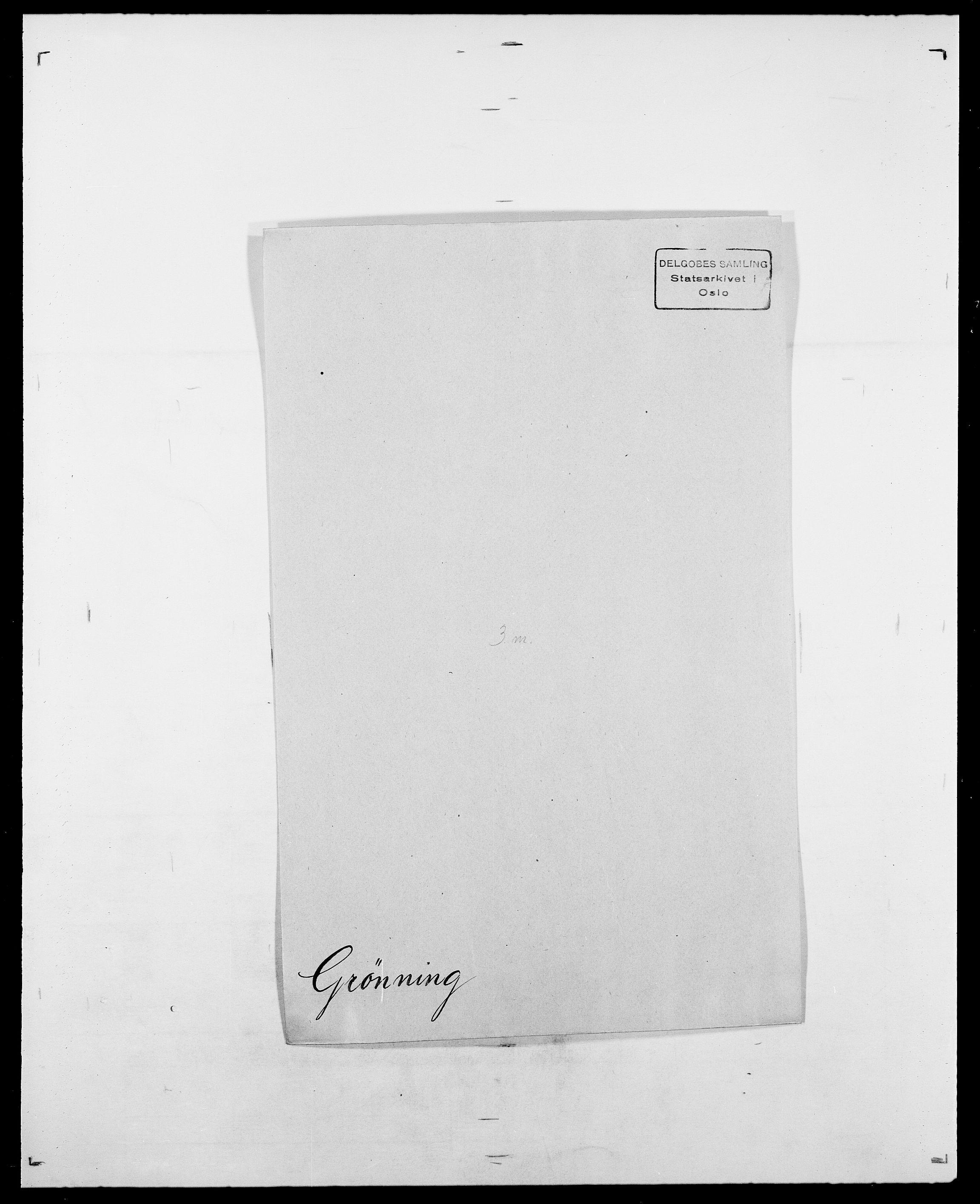 SAO, Delgobe, Charles Antoine - samling, D/Da/L0015: Grodtshilling - Halvorsæth, s. 261