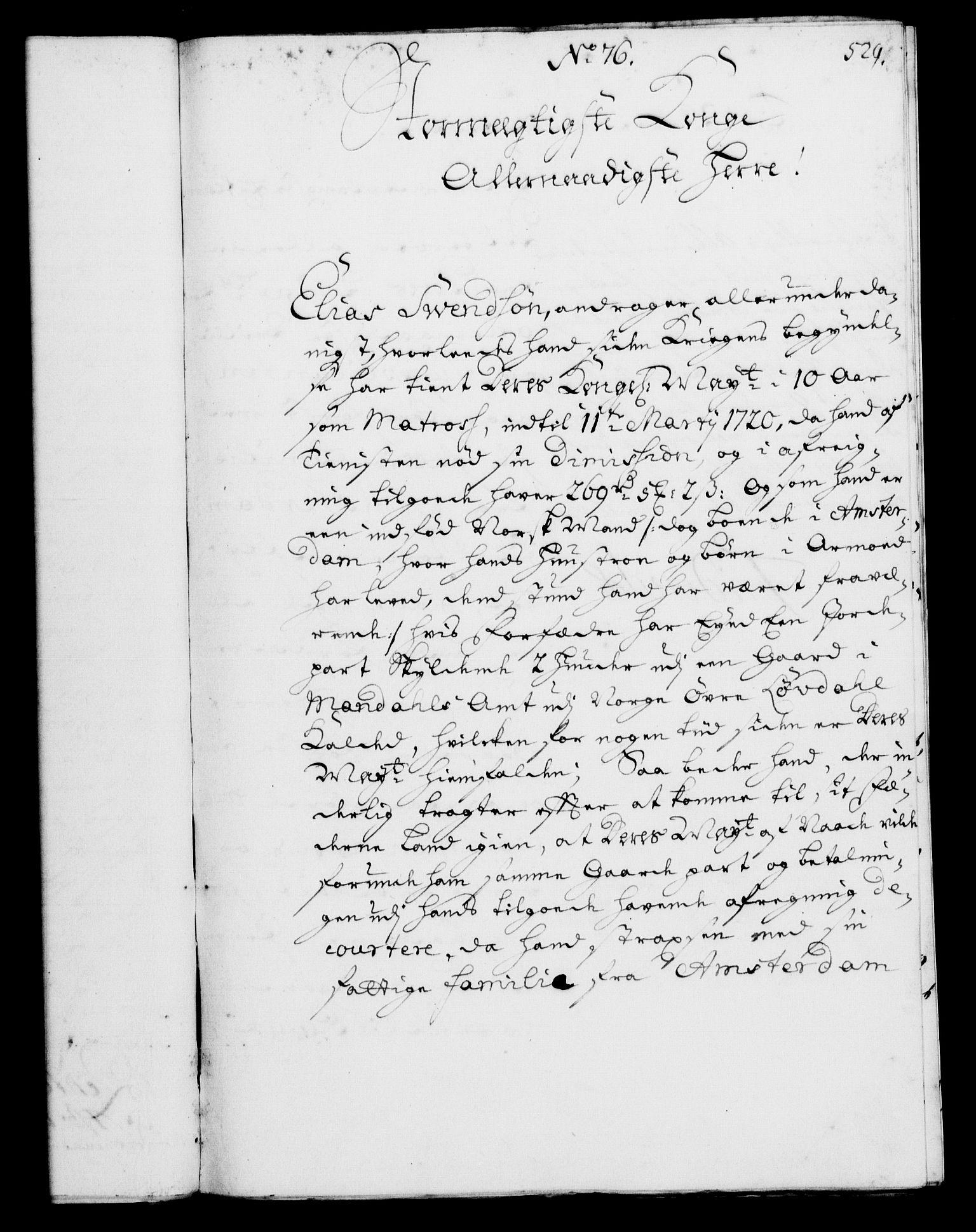 RA, Rentekammeret, Kammerkanselliet, G/Gf/Gfa/L0002: Norsk relasjons- og resolusjonsprotokoll (merket RK 52.2), 1720, s. 512