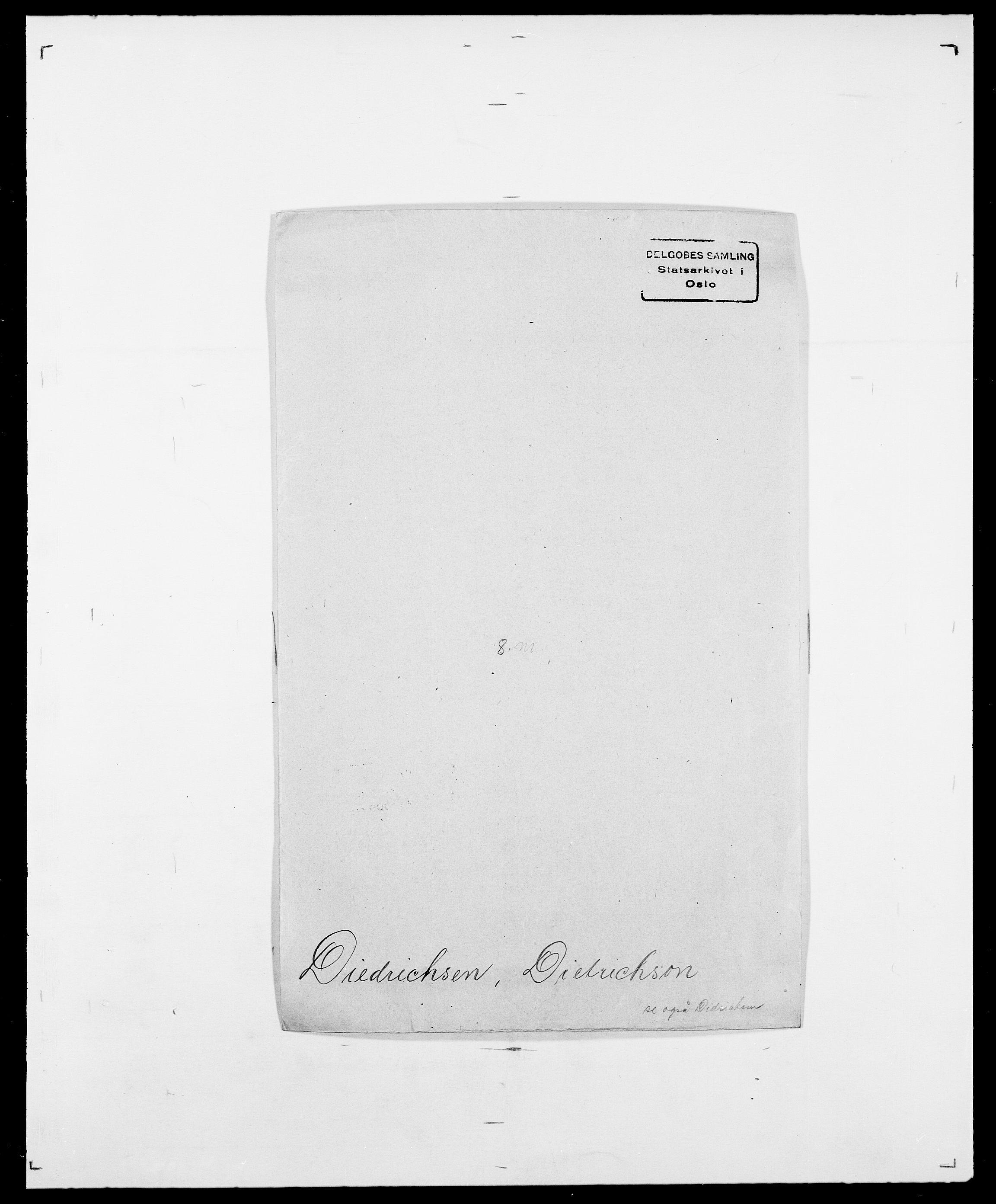 SAO, Delgobe, Charles Antoine - samling, D/Da/L0009: Dahl - v. Düren, s. 539