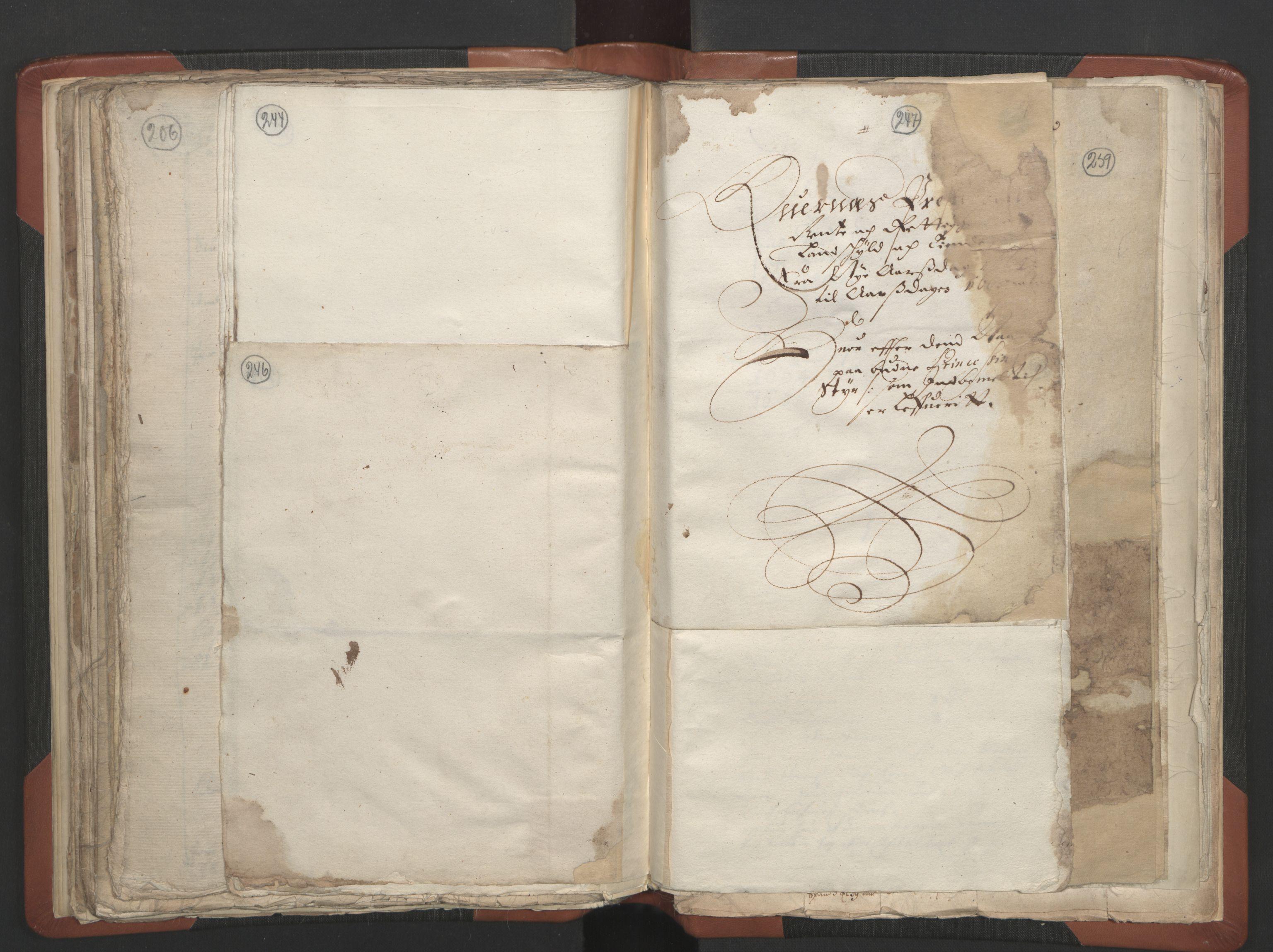 RA, Sogneprestenes manntall 1664-1666, nr. 28: Nordmøre prosti, 1664-1666, s. 246-247