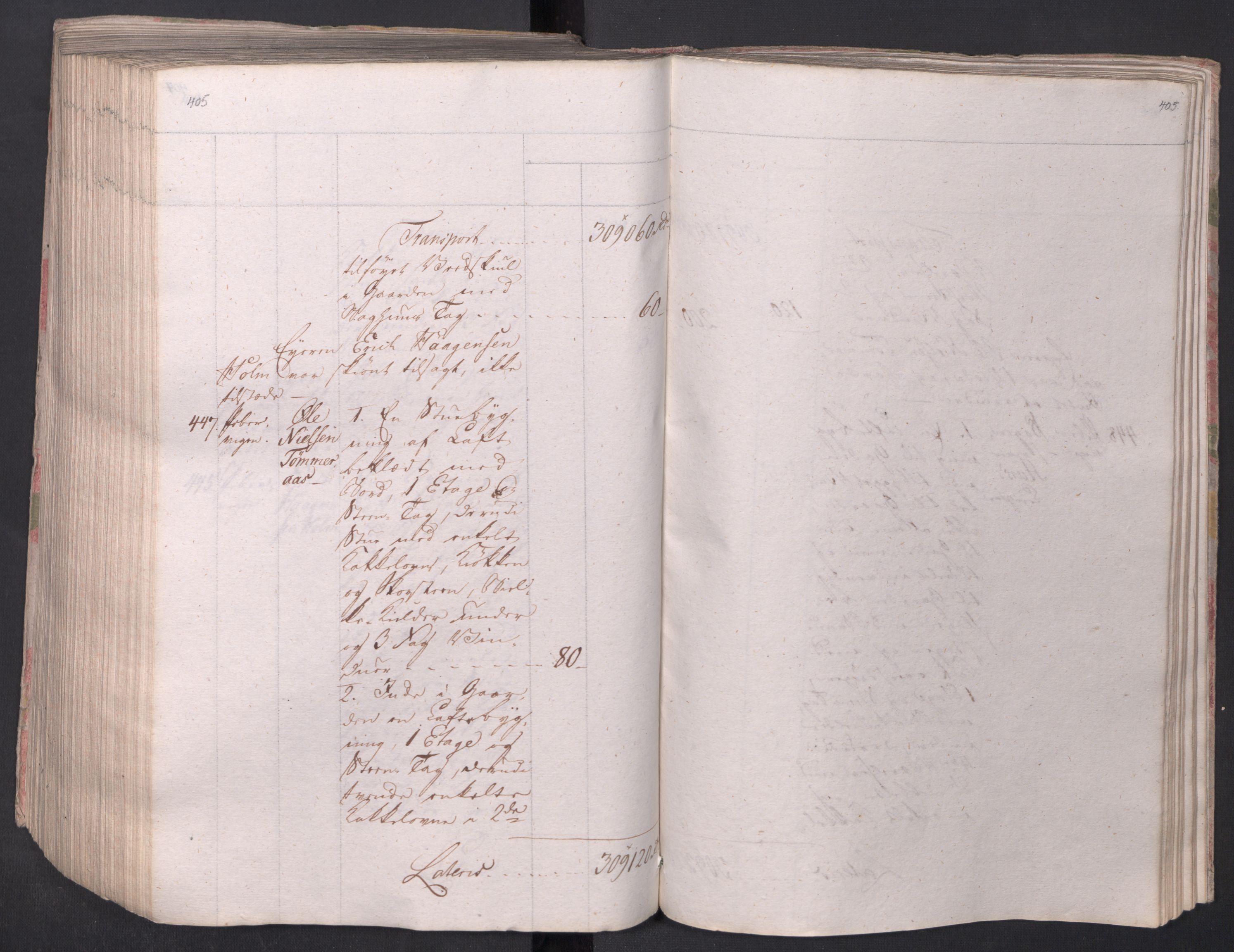 SAO, Kristiania stiftamt, I/Ia/L0015: Branntakster, 1797, s. 405