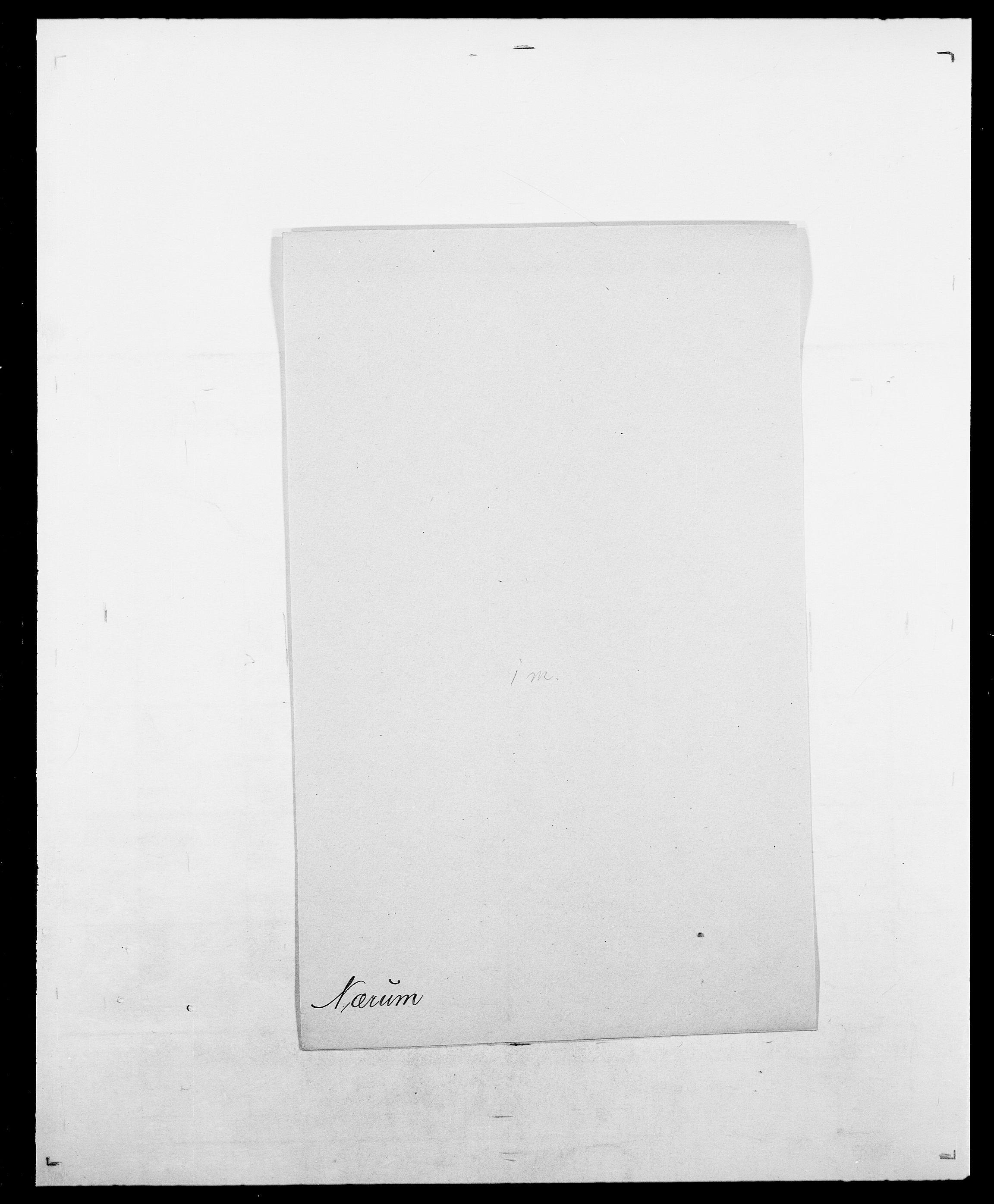 SAO, Delgobe, Charles Antoine - samling, D/Da/L0028: Naaden - Nøvik, s. 589