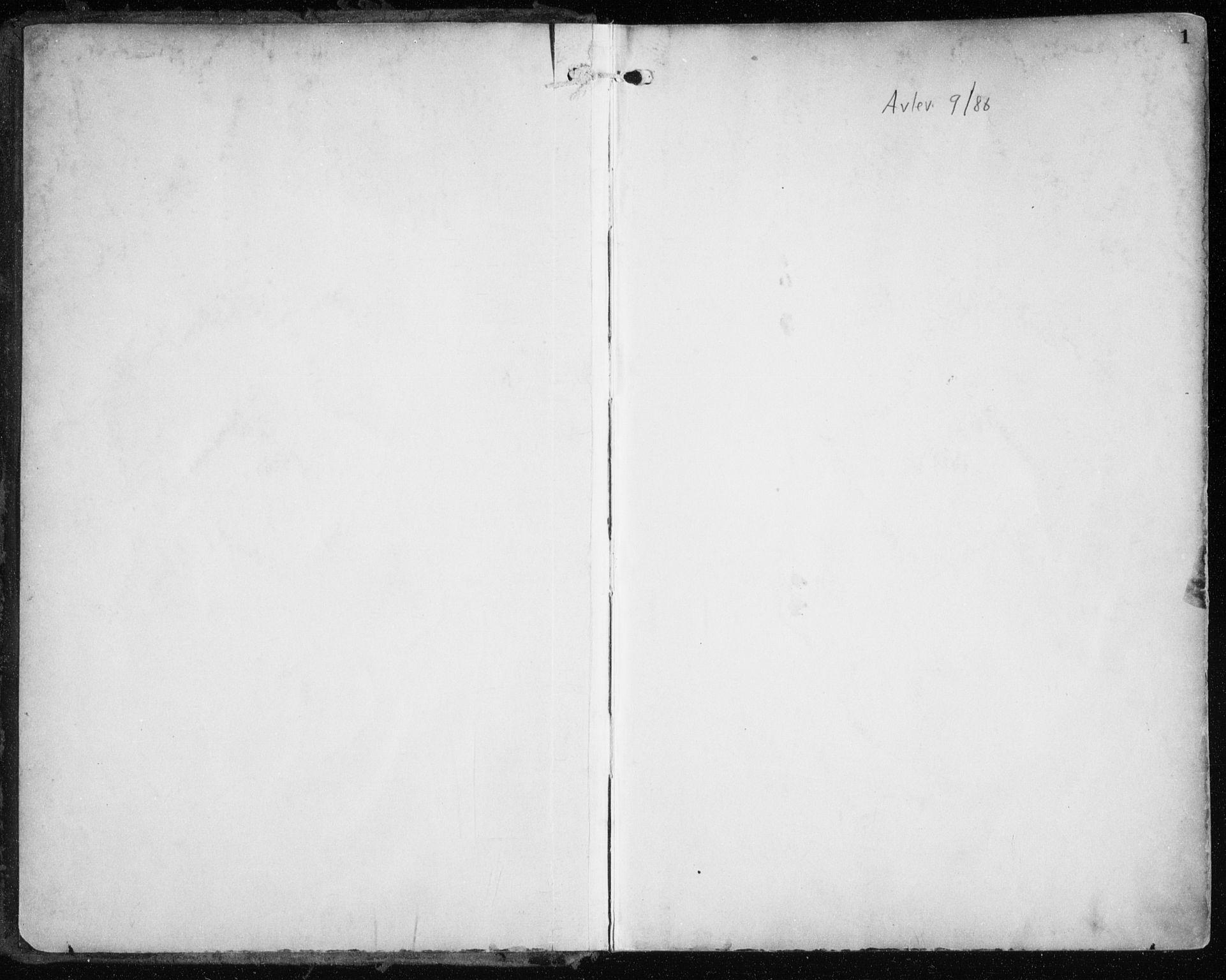 SATØ, Tromsøysund sokneprestkontor, G/Ga/L0006kirke: Ministerialbok nr. 6, 1897-1906, s. 1