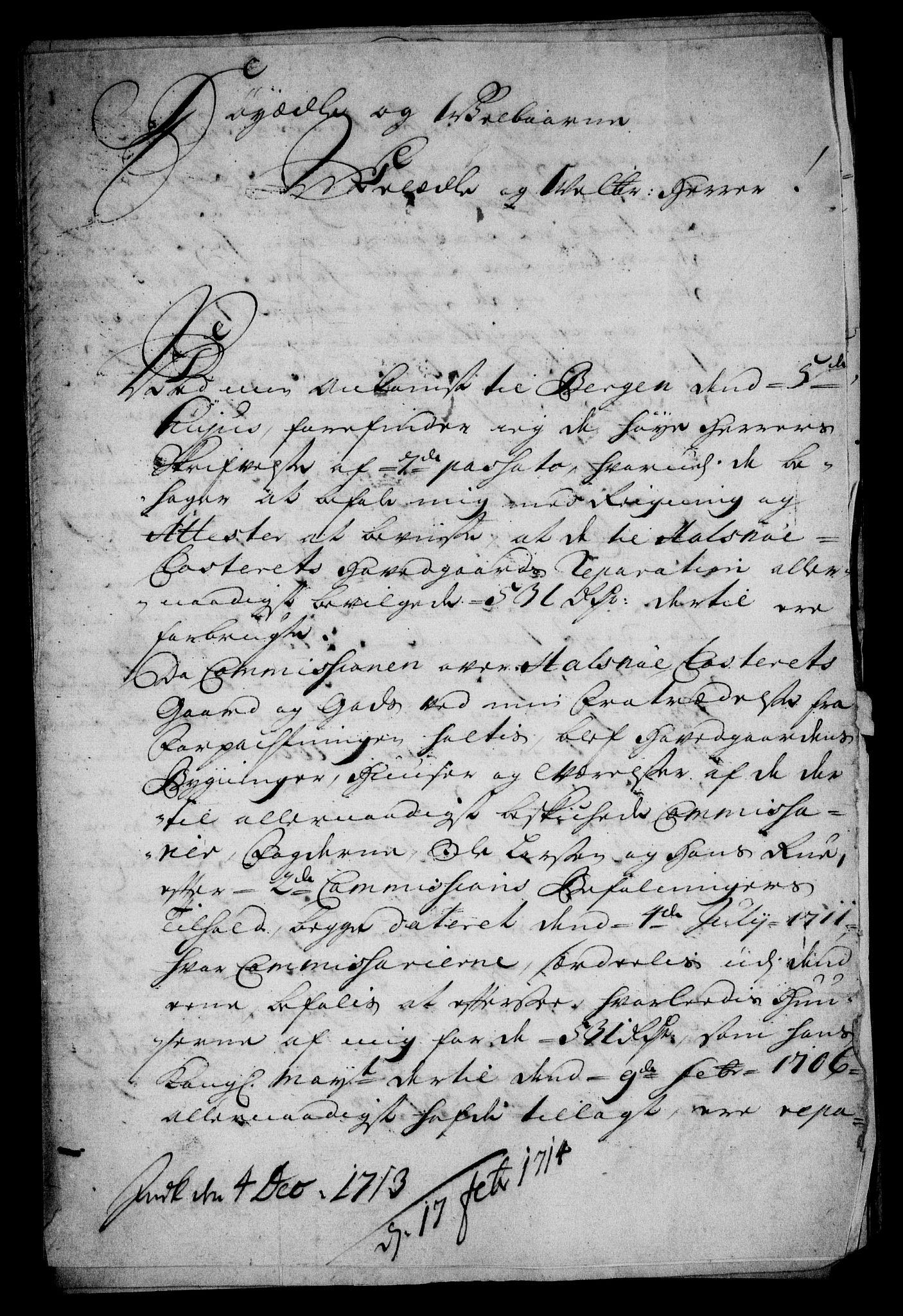 RA, Rentekammeret inntil 1814, Realistisk ordnet avdeling, On/L0005: [Jj 6]: Forskjellige dokumenter om Halsnøy klosters gods, 1697-1770, s. 22