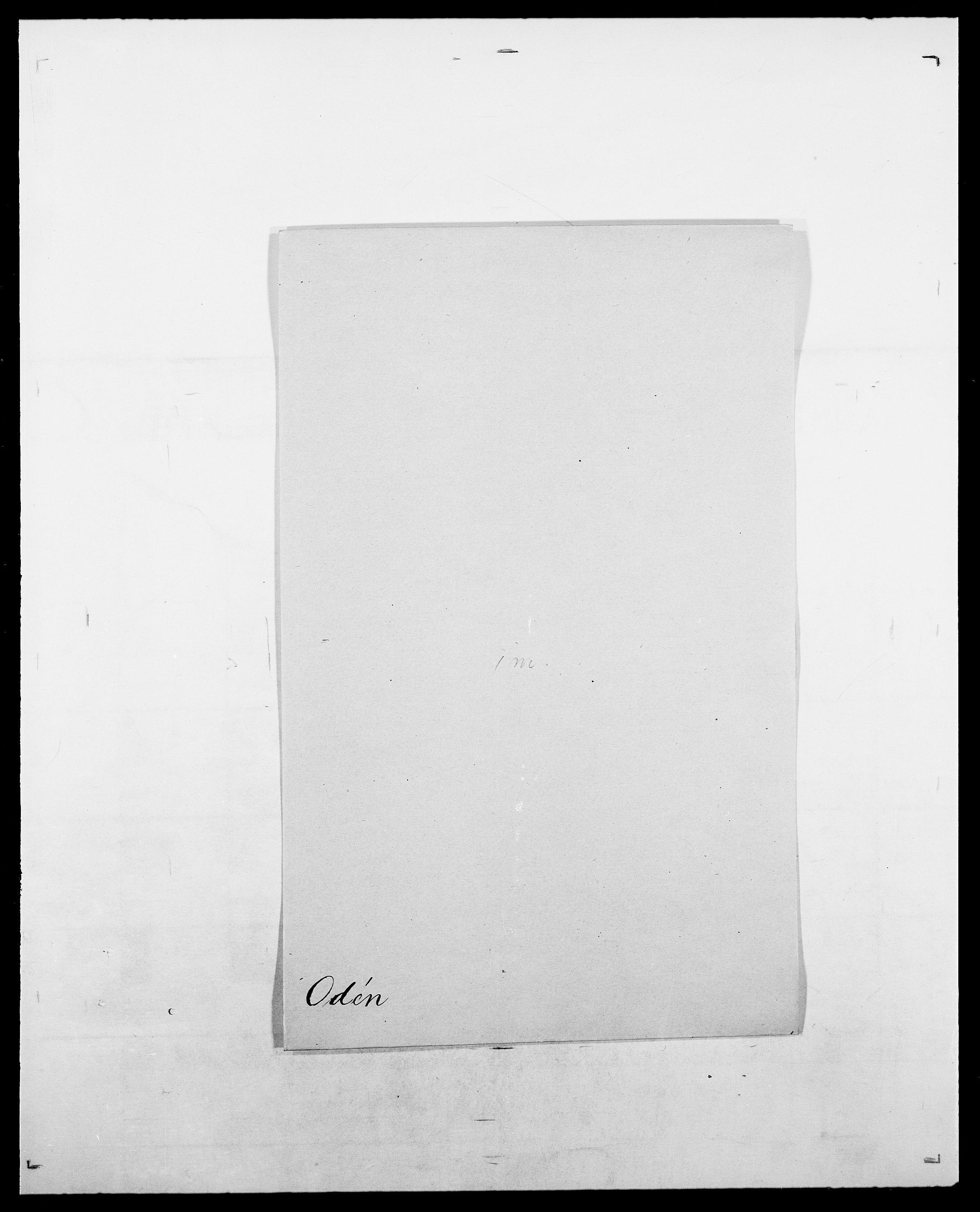 SAO, Delgobe, Charles Antoine - samling, D/Da/L0029: Obel - Oxholm, s. 14