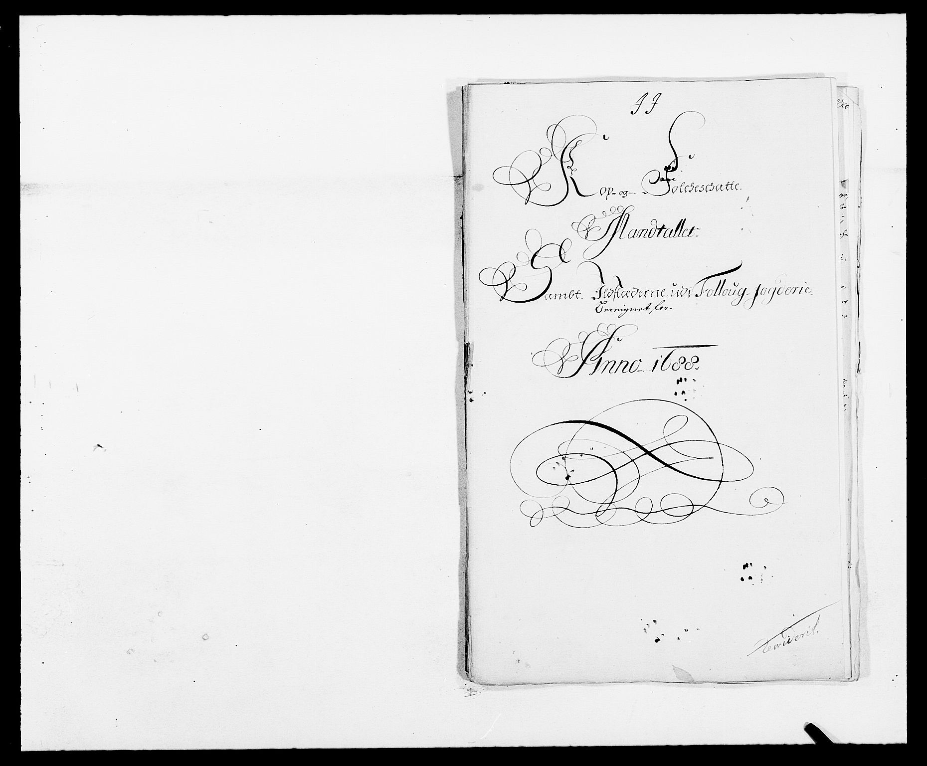 RA, Rentekammeret inntil 1814, Reviderte regnskaper, Fogderegnskap, R09/L0434: Fogderegnskap Follo, 1687-1688, s. 382