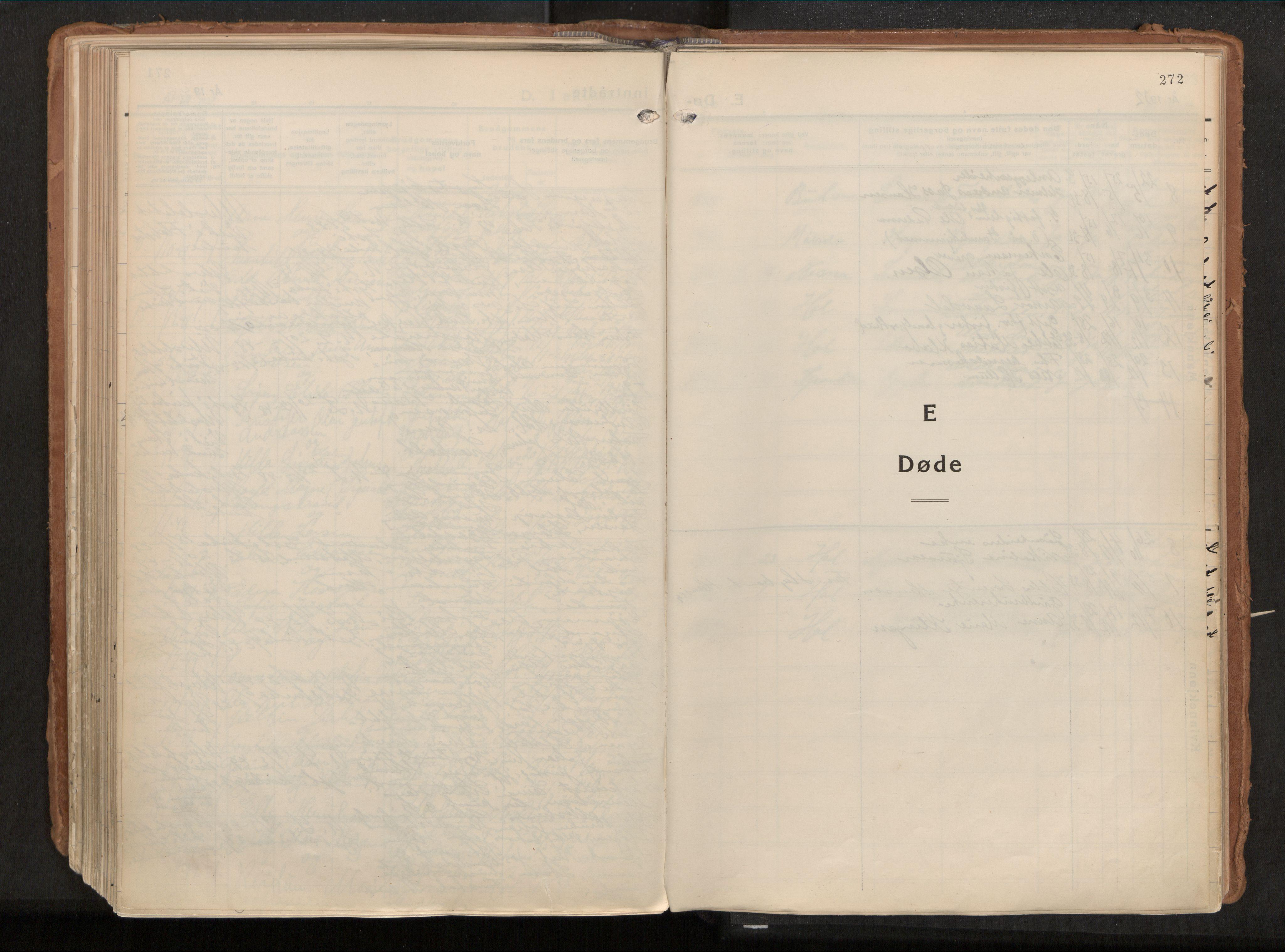 SAT, Ministerialprotokoller, klokkerbøker og fødselsregistre - Nordland, 882/L1182: Ministerialbok nr. 882A04, 1932-1950, s. 272