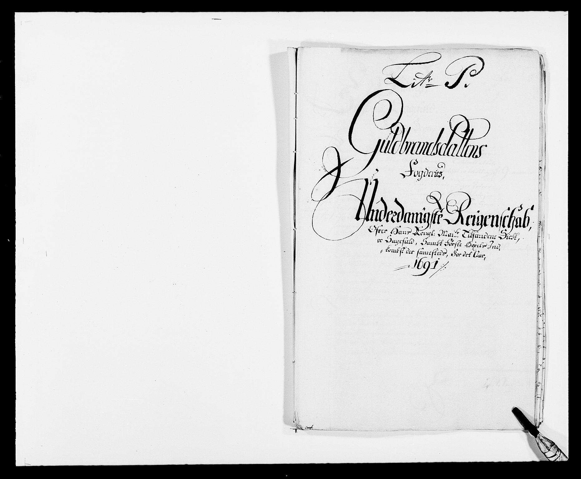 RA, Rentekammeret inntil 1814, Reviderte regnskaper, Fogderegnskap, R17/L1165: Fogderegnskap Gudbrandsdal, 1690-1692, s. 254