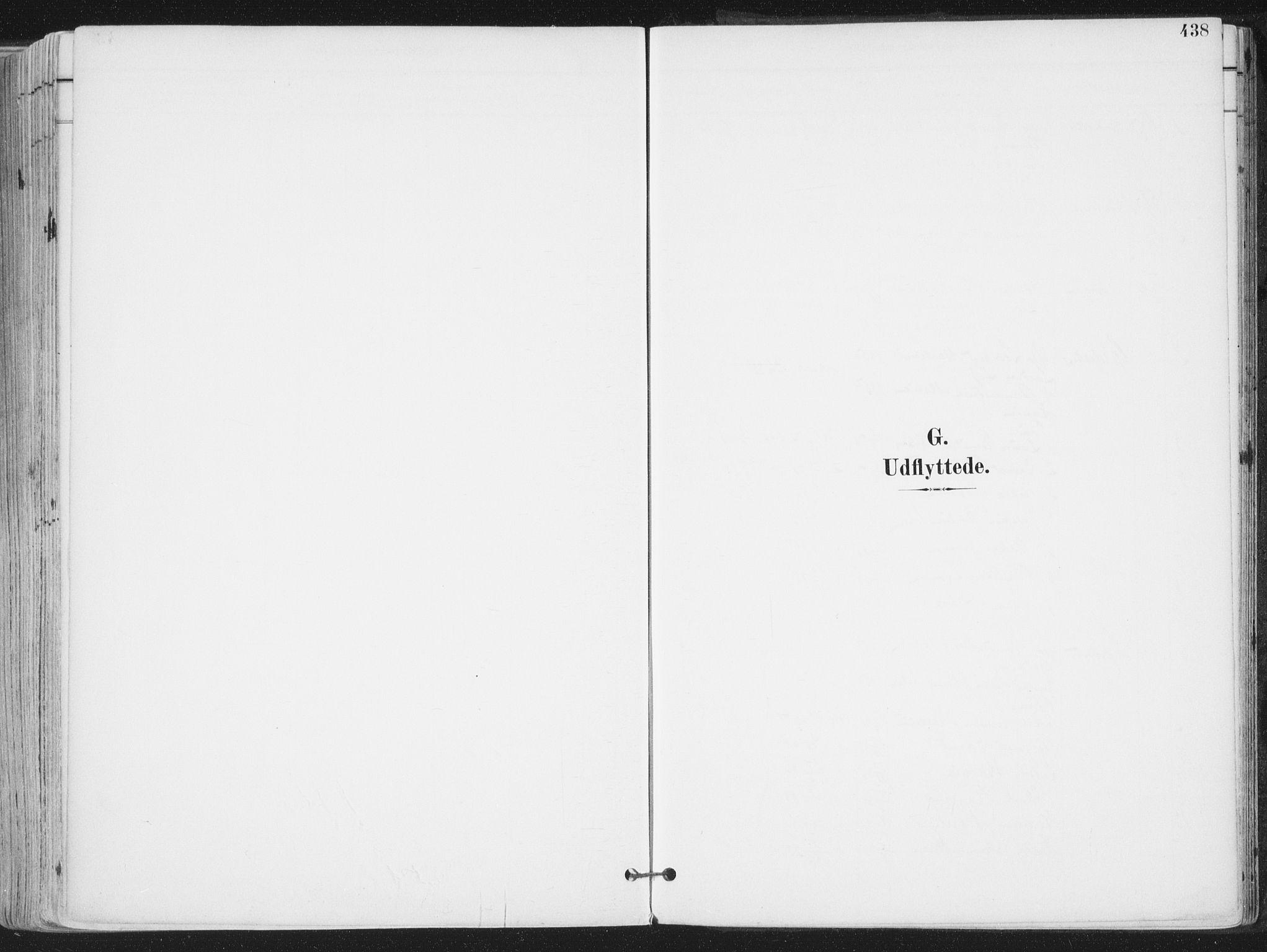 SAT, Ministerialprotokoller, klokkerbøker og fødselsregistre - Nordland, 802/L0055: Ministerialbok nr. 802A02, 1894-1915, s. 438