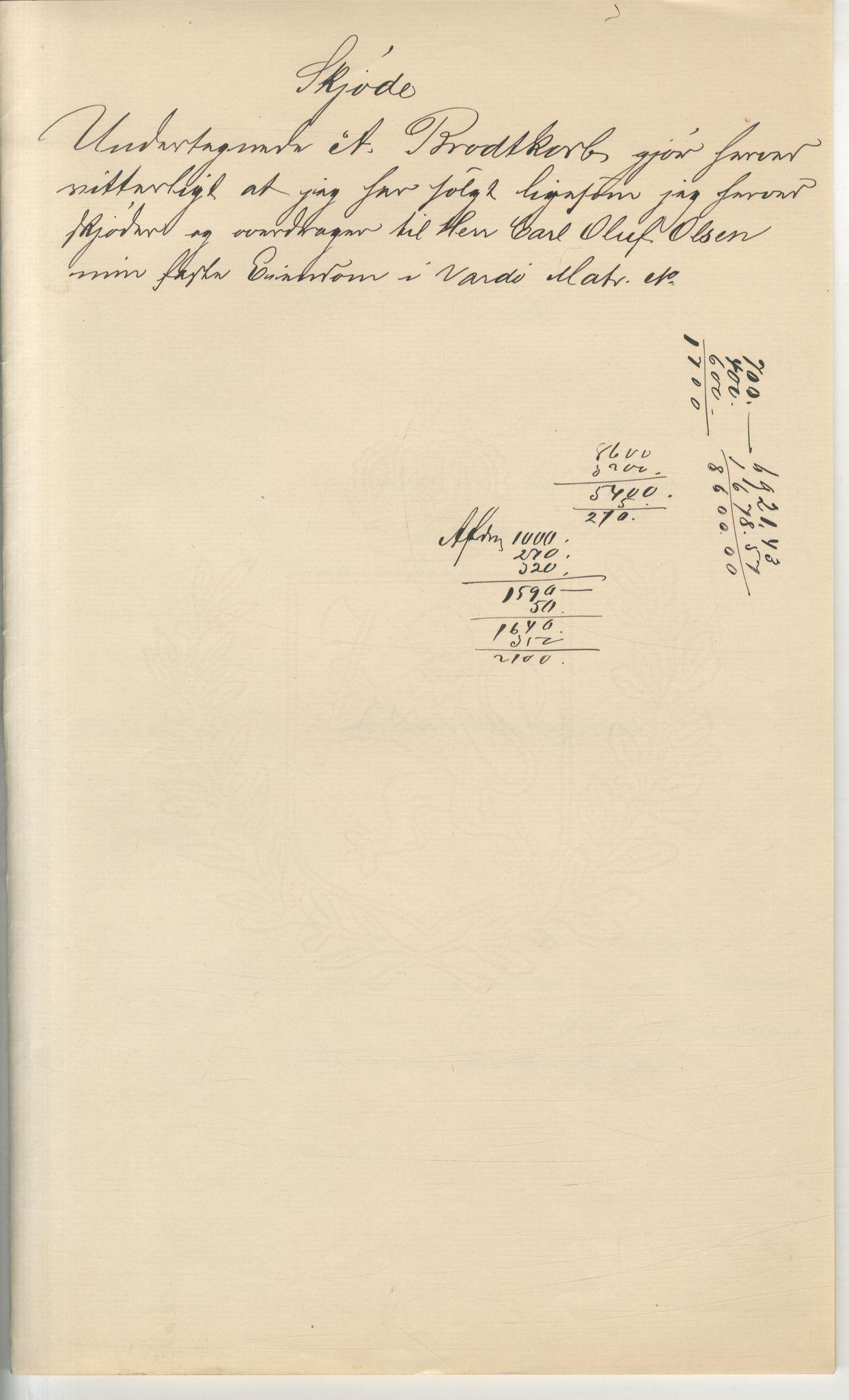 VAMU, Brodtkorb handel A/S, Q/Qb/L0003: Faste eiendommer i Vardø Herred, 1862-1939, s. 179