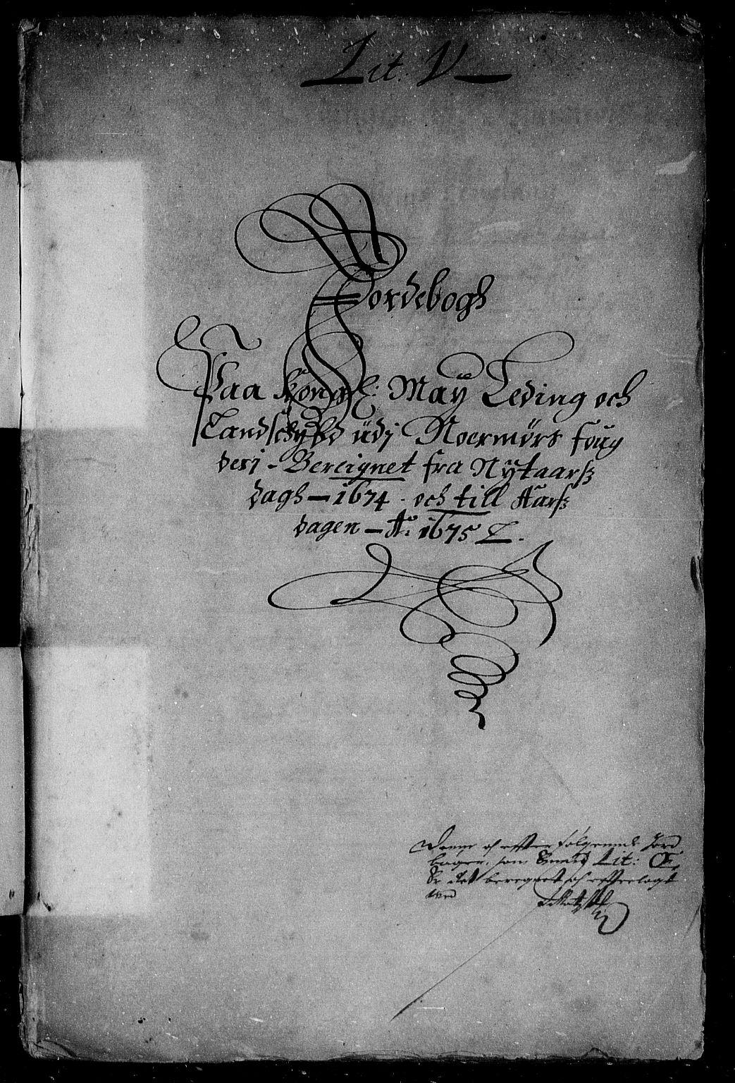 RA, Rentekammeret inntil 1814, Reviderte regnskaper, Stiftamtstueregnskaper, Trondheim stiftamt og Nordland amt, R/Rd/L0042: Trondheim stiftamt, 1670-1675