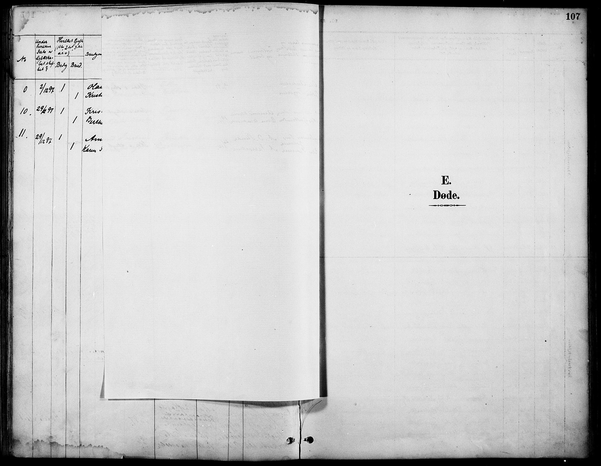 SAH, Østre Gausdal prestekontor, Ministerialbok nr. 2, 1887-1897, s. 107