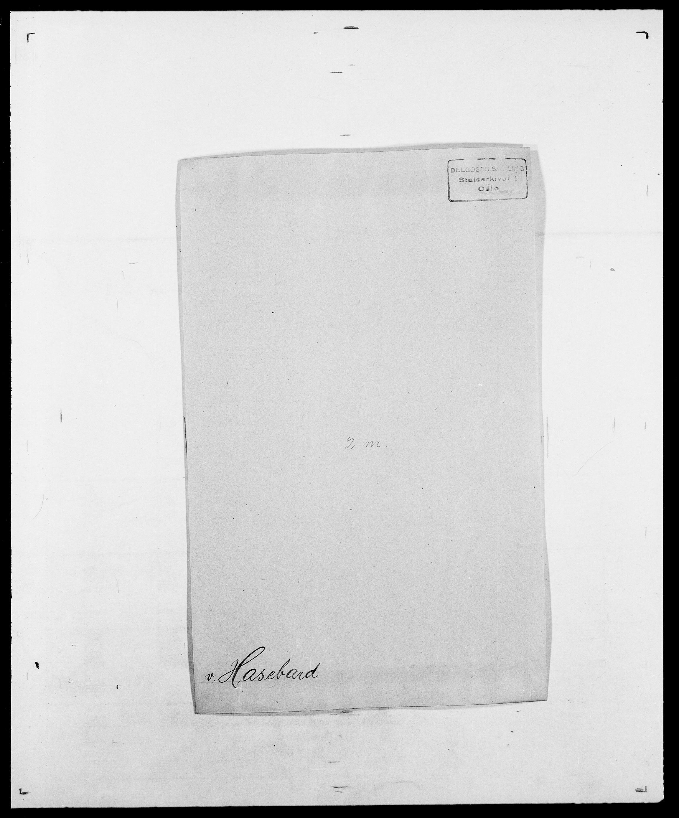 SAO, Delgobe, Charles Antoine - samling, D/Da/L0016: Hamborg - Hektoen, s. 476