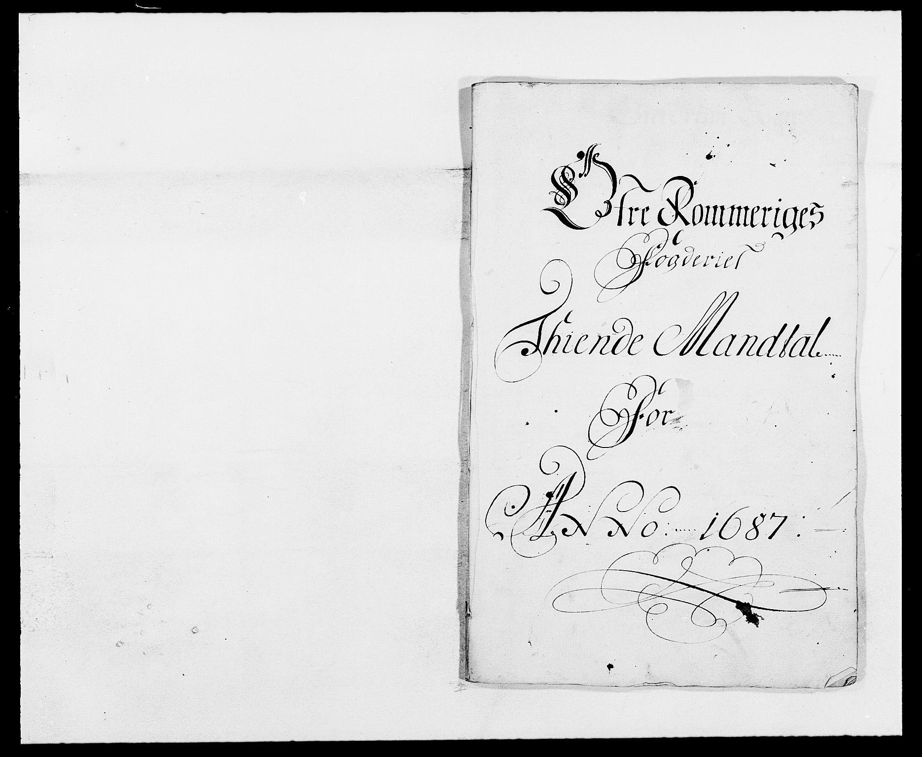 RA, Rentekammeret inntil 1814, Reviderte regnskaper, Fogderegnskap, R12/L0700: Fogderegnskap Øvre Romerike, 1687-1688, s. 22