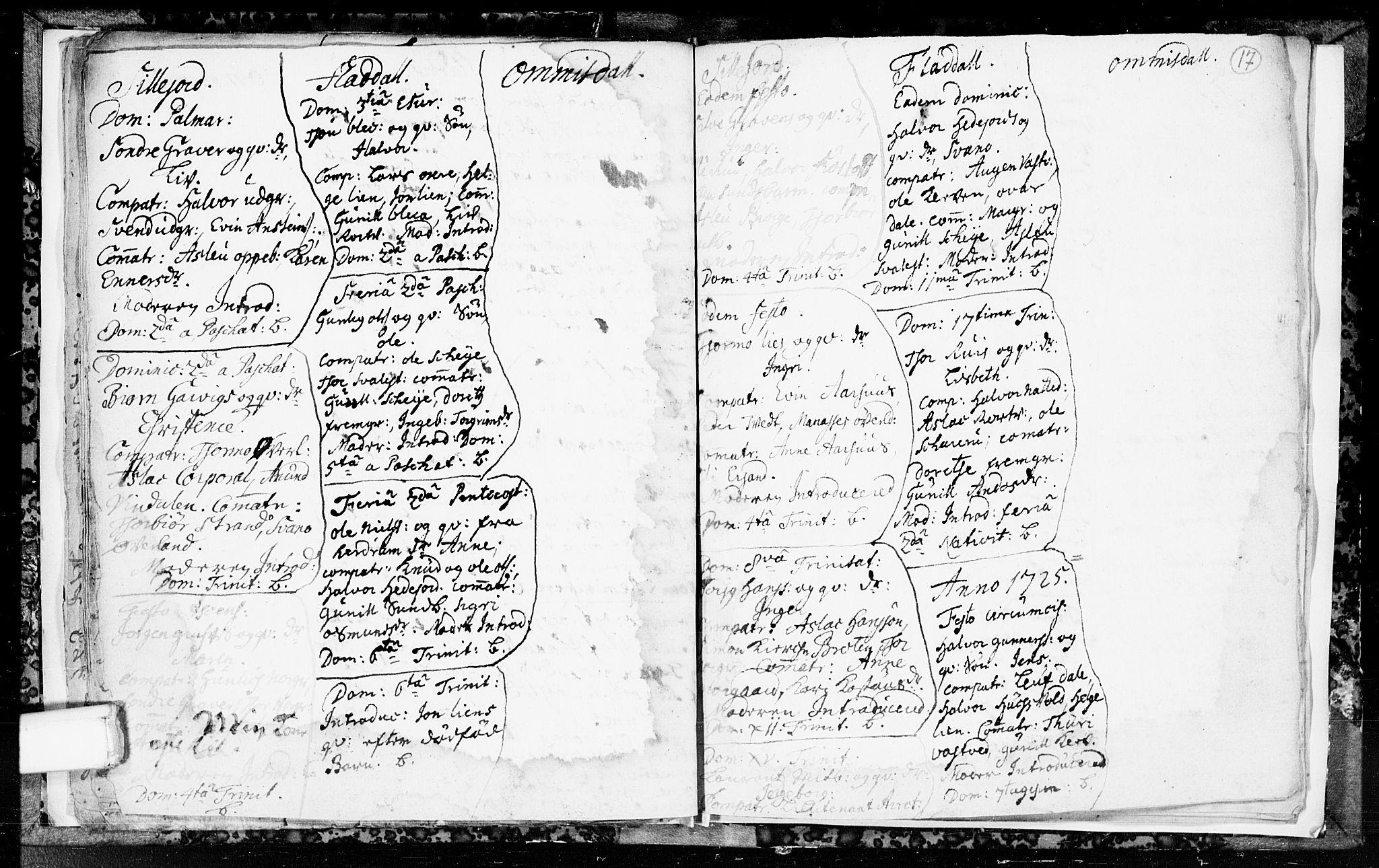 SAKO, Seljord kirkebøker, F/Fa/L0003: Ministerialbok nr. I 3, 1714-1725, s. 17