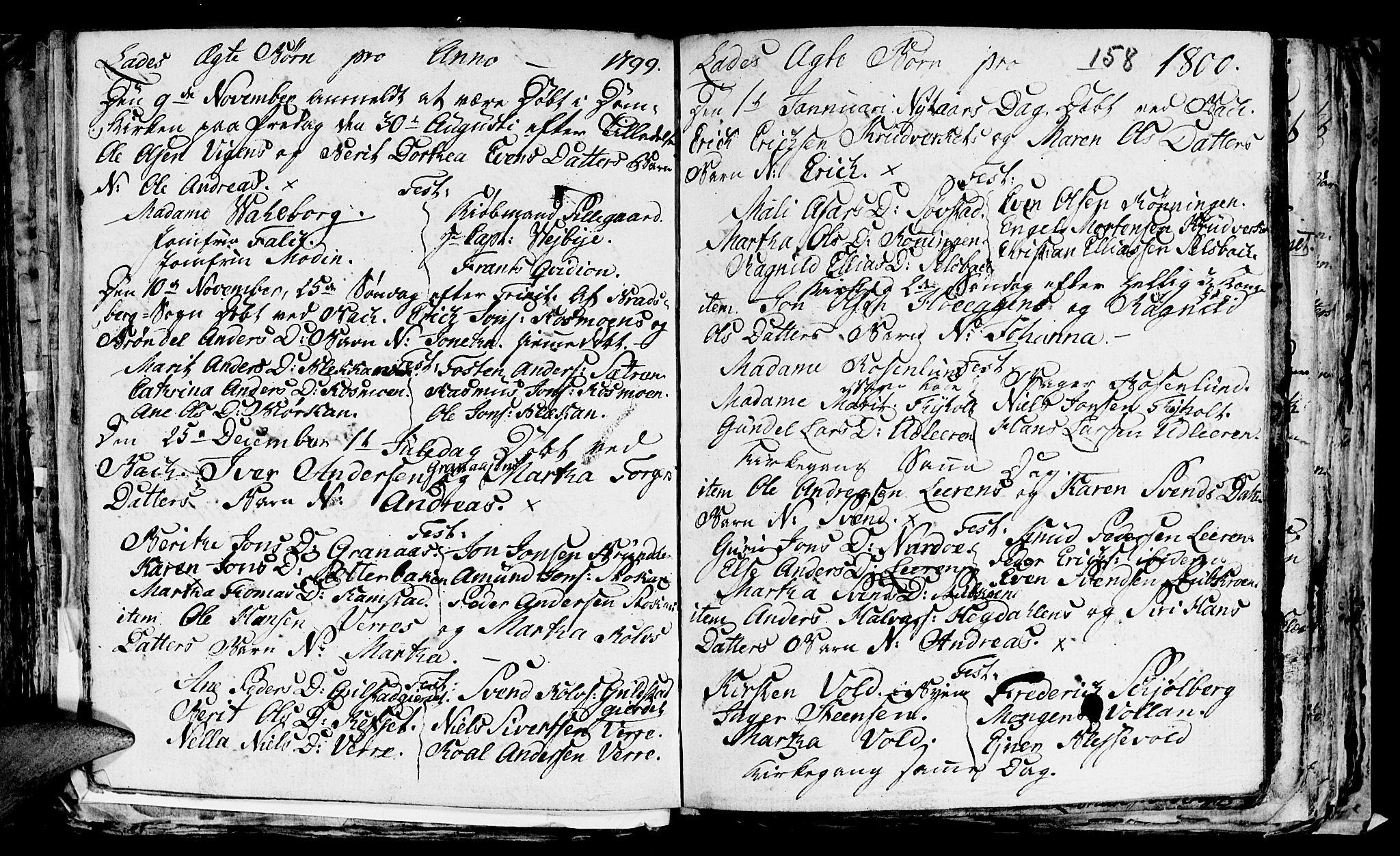 SAT, Ministerialprotokoller, klokkerbøker og fødselsregistre - Sør-Trøndelag, 606/L0305: Klokkerbok nr. 606C01, 1757-1819, s. 158