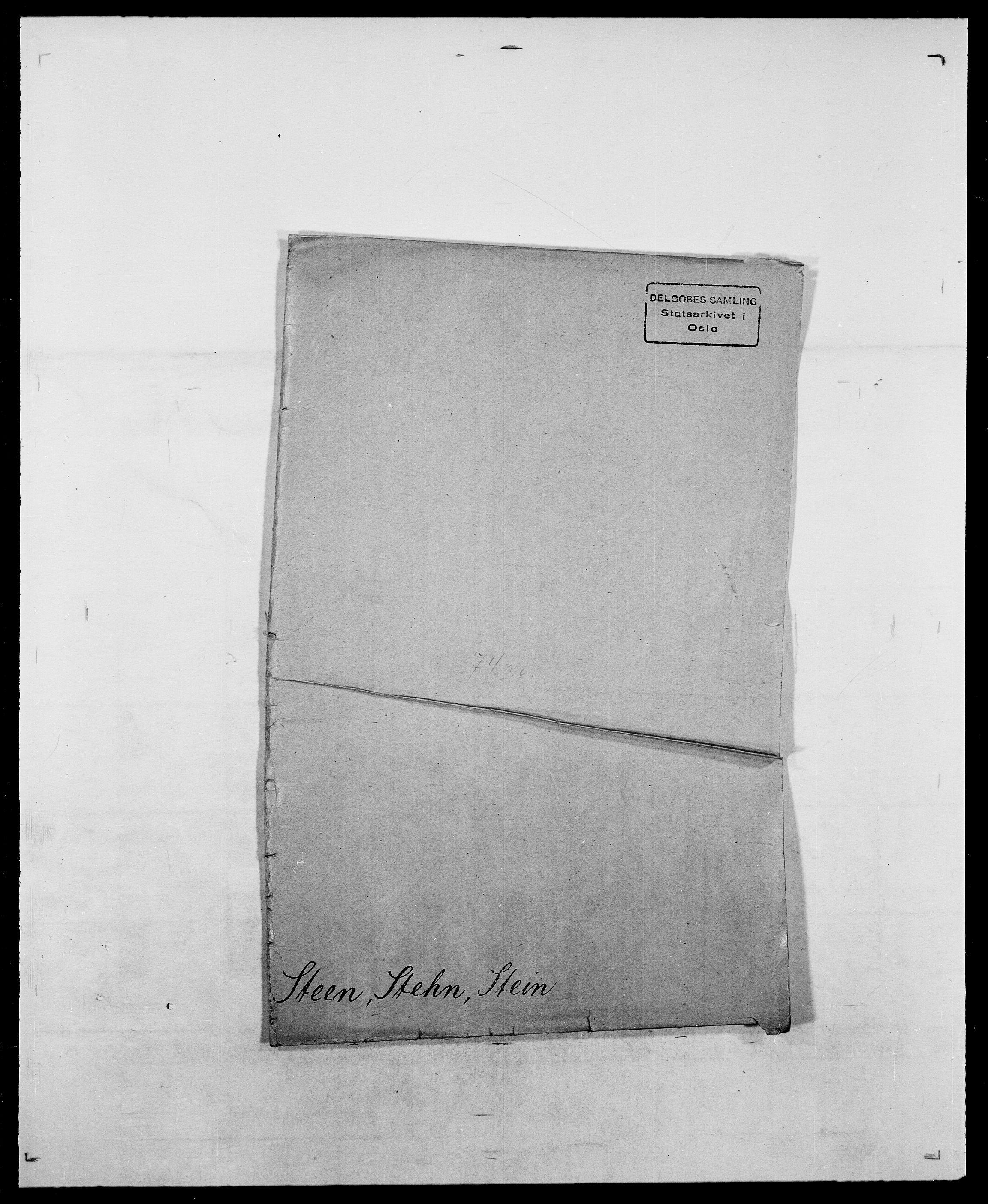 SAO, Delgobe, Charles Antoine - samling, D/Da/L0037: Steen, Sthen, Stein - Svare, Svanige, Svanne, se også Svanning og Schwane, s. 1