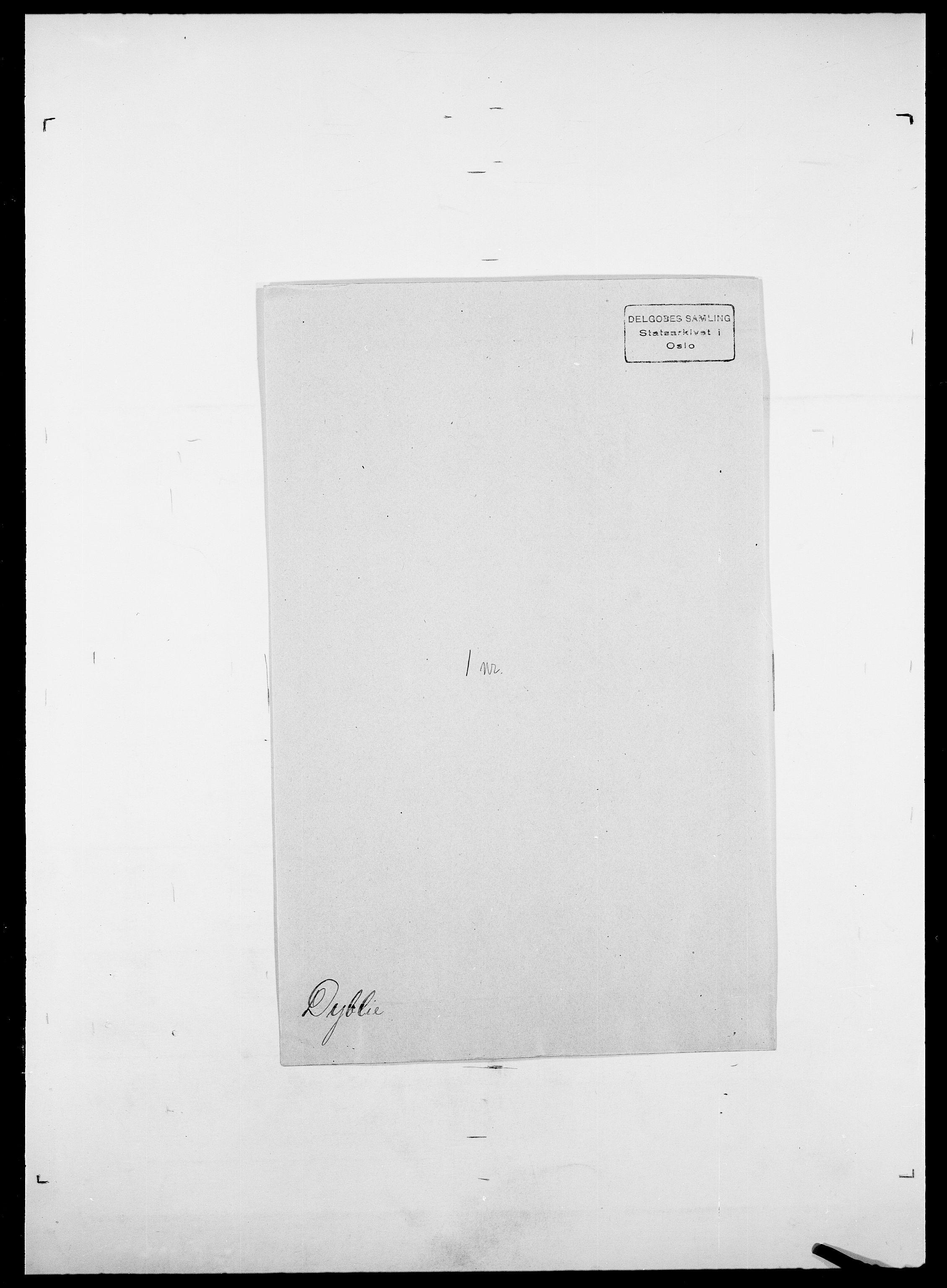 SAO, Delgobe, Charles Antoine - samling, D/Da/L0009: Dahl - v. Düren, s. 889
