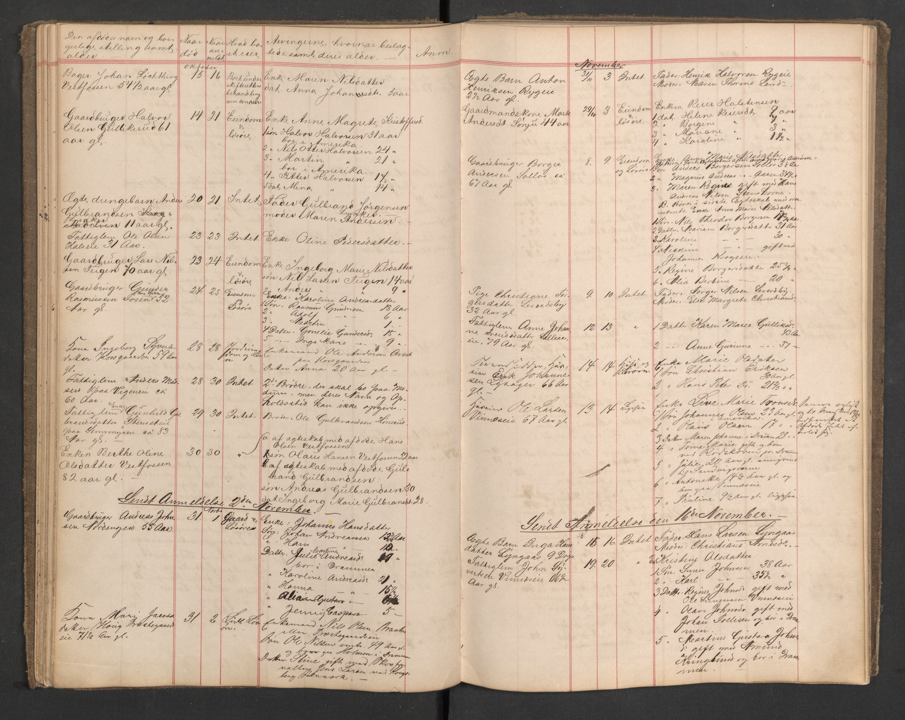 SAKO, Eiker lensmannskontor, H/Ha/L0003: Dødsfallsprotokoll, 1879-1894