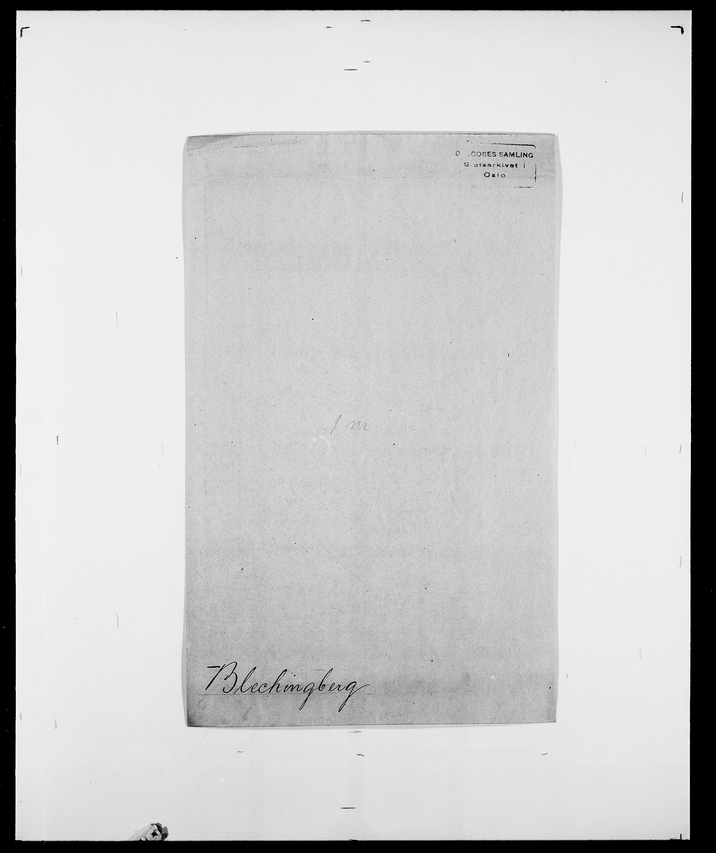 SAO, Delgobe, Charles Antoine - samling, D/Da/L0004: Bergendahl - Blære, s. 549
