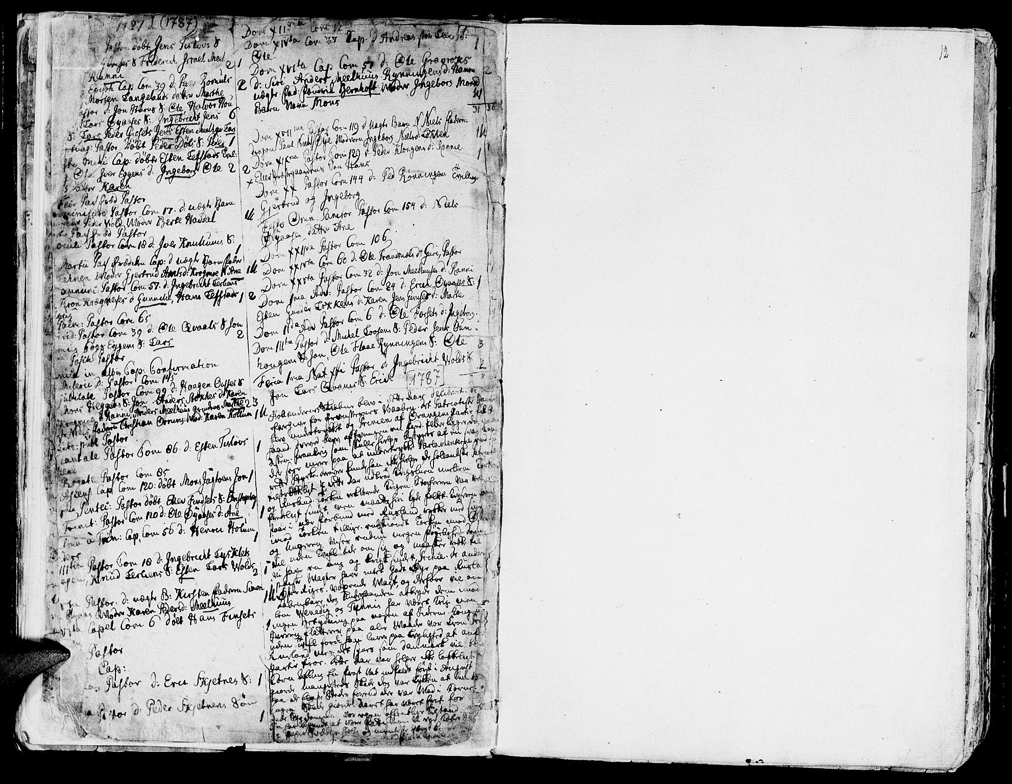 SAT, Ministerialprotokoller, klokkerbøker og fødselsregistre - Sør-Trøndelag, 691/L1061: Ministerialbok nr. 691A02 /1, 1768-1815, s. 12