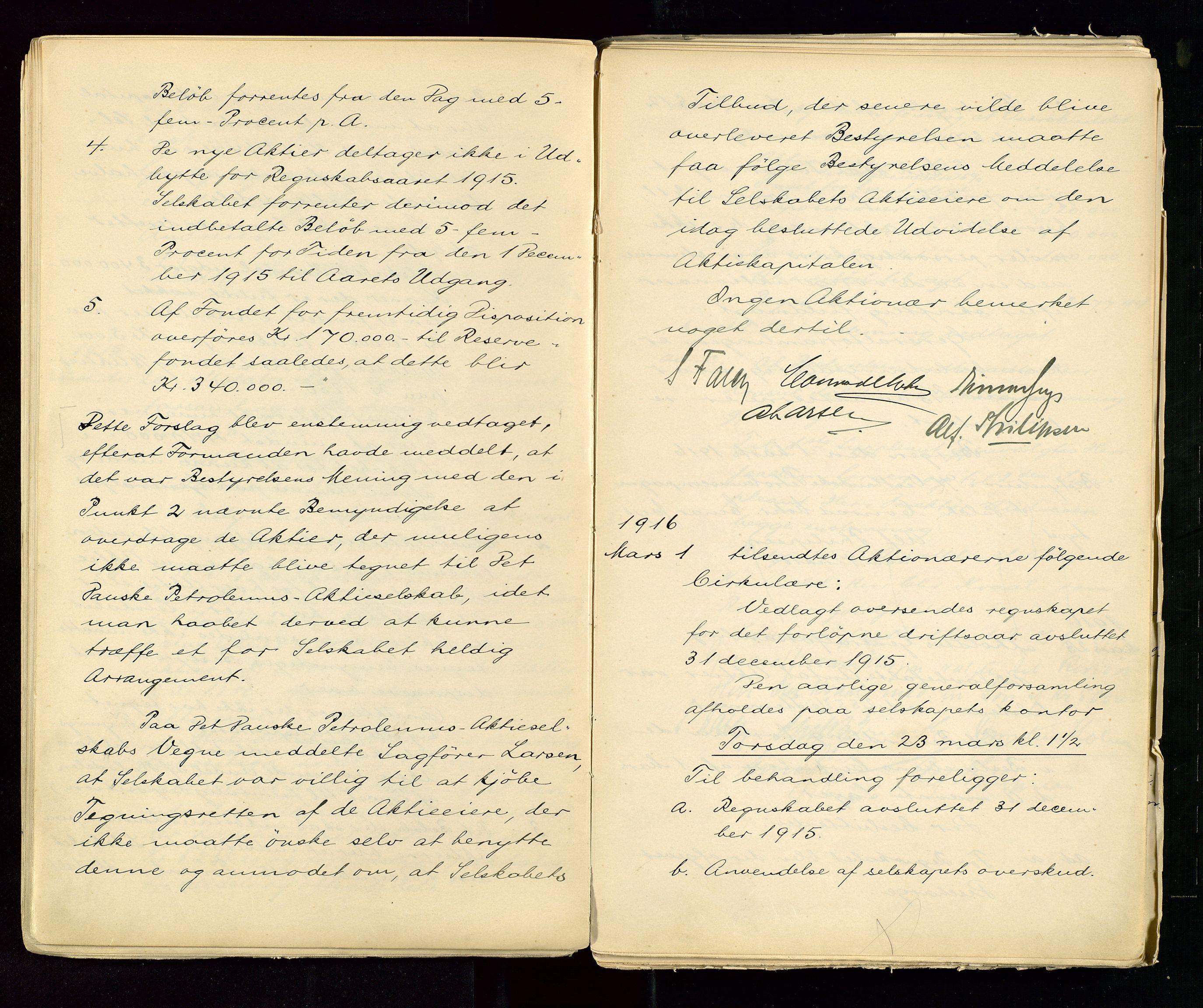 SAST, PA 1533 - A/S Vestlandske Petroleumscompani, A/Aa/L0001: Generalforsamlinger og styreprotokoller, 1890-1953, s. 55