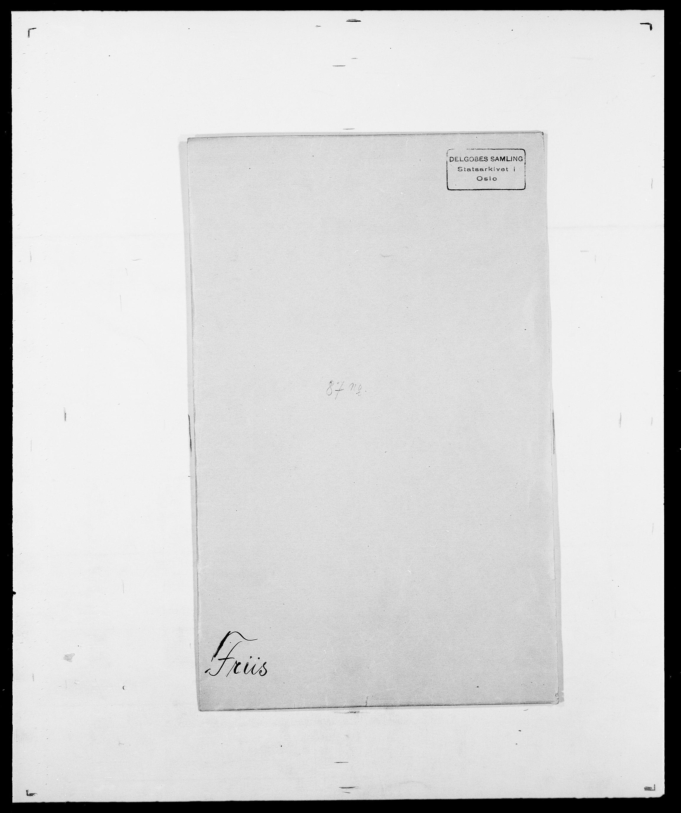 SAO, Delgobe, Charles Antoine - samling, D/Da/L0012: Flor, Floer, Flohr - Fritzner, s. 926