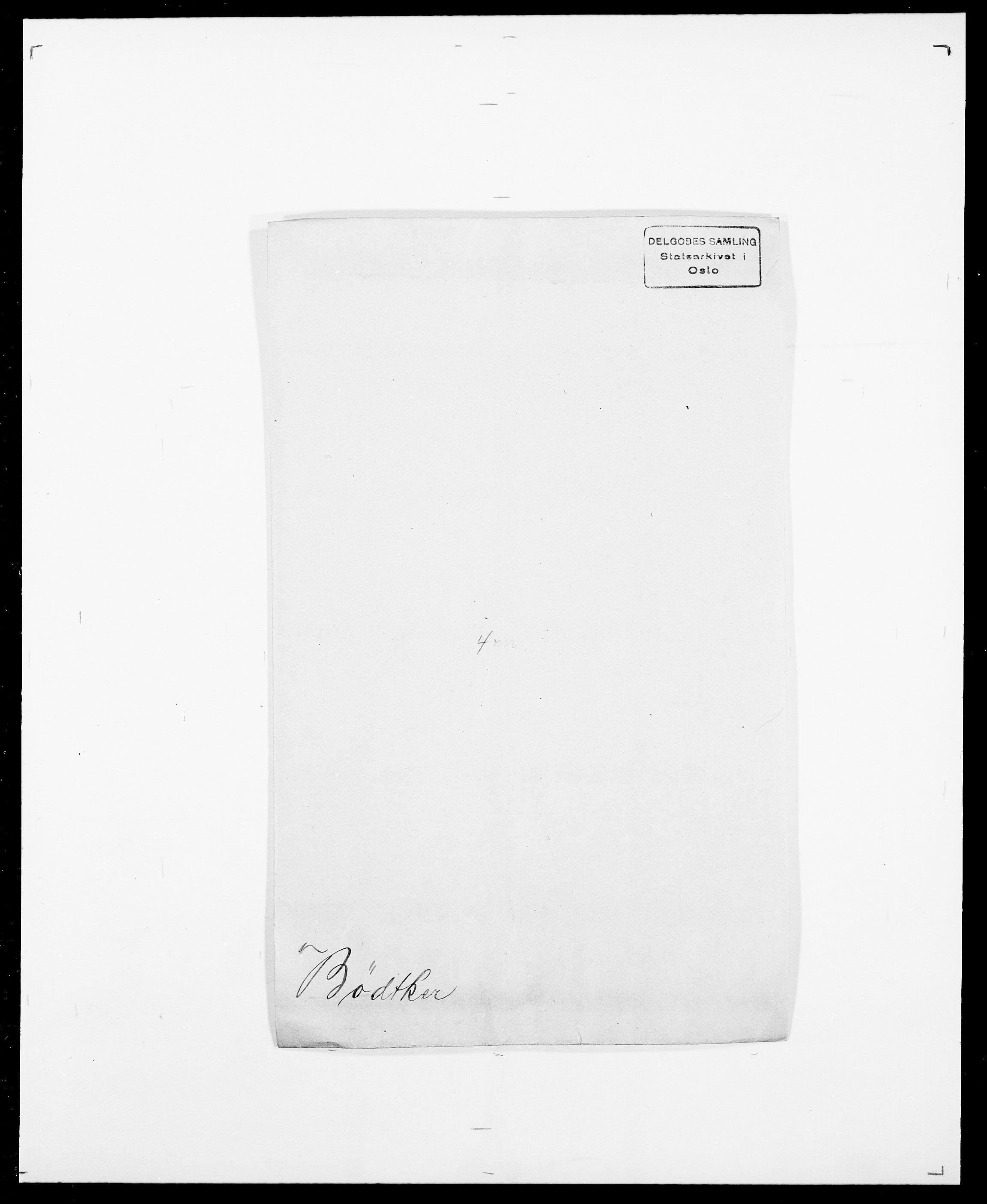 SAO, Delgobe, Charles Antoine - samling, D/Da/L0007: Buaas - Caphengst, s. 668