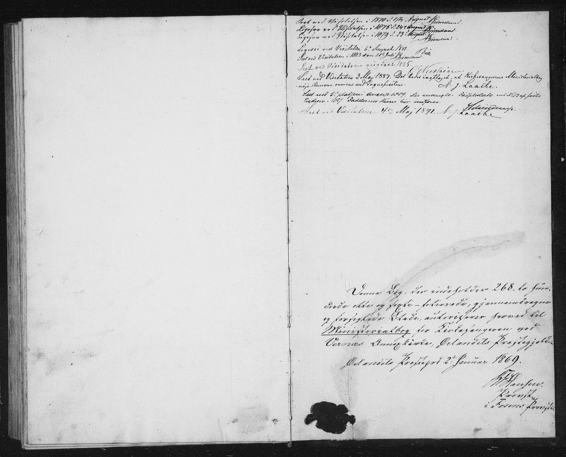 SAT, Ministerialprotokoller, klokkerbøker og fødselsregistre - Sør-Trøndelag, 662/L0756: Klokkerbok nr. 662C01, 1869-1891