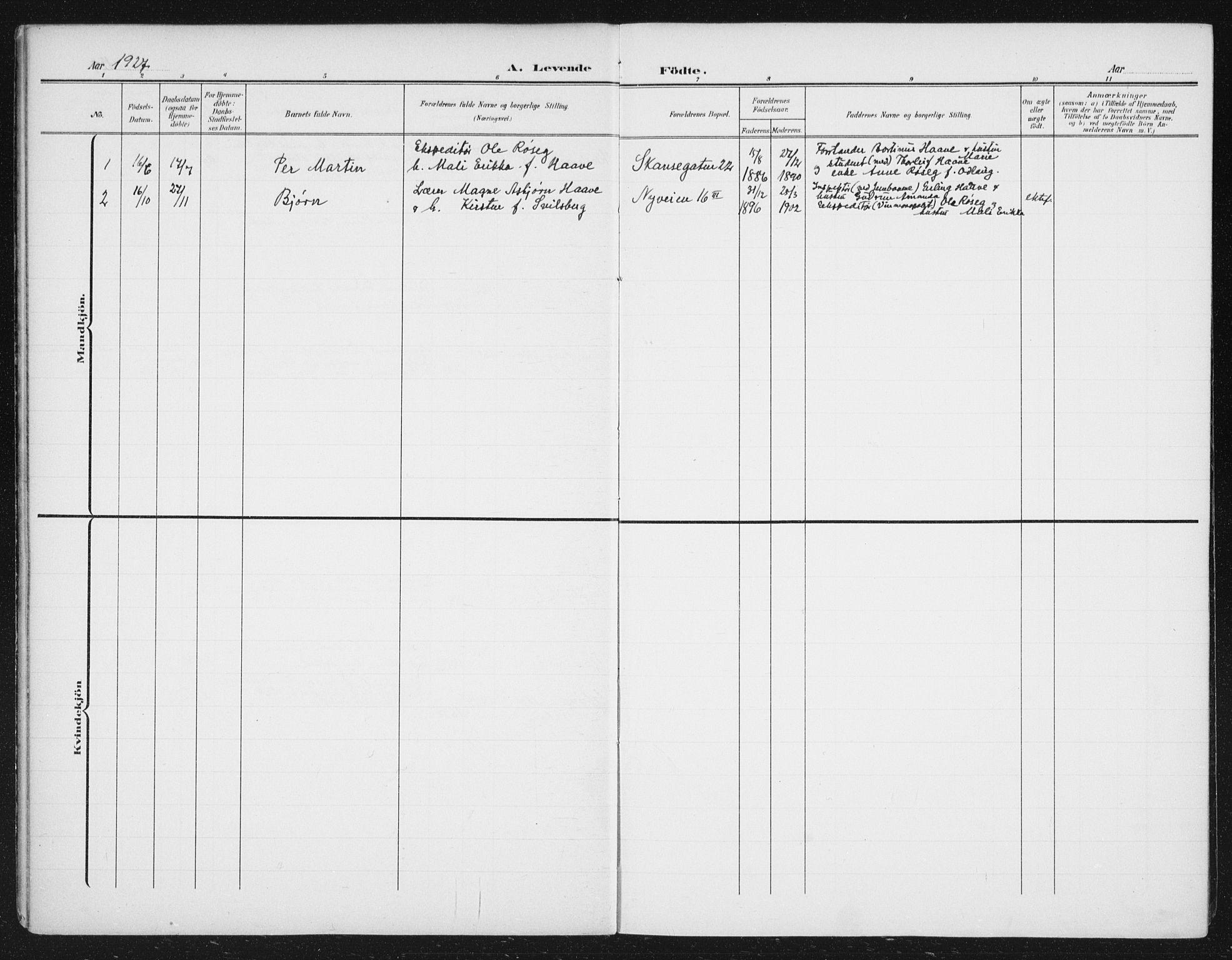 SAT, Ministerialprotokoller, klokkerbøker og fødselsregistre - Sør-Trøndelag, 623/L0479: Klokkerbok nr. 623C02, 1907-1933