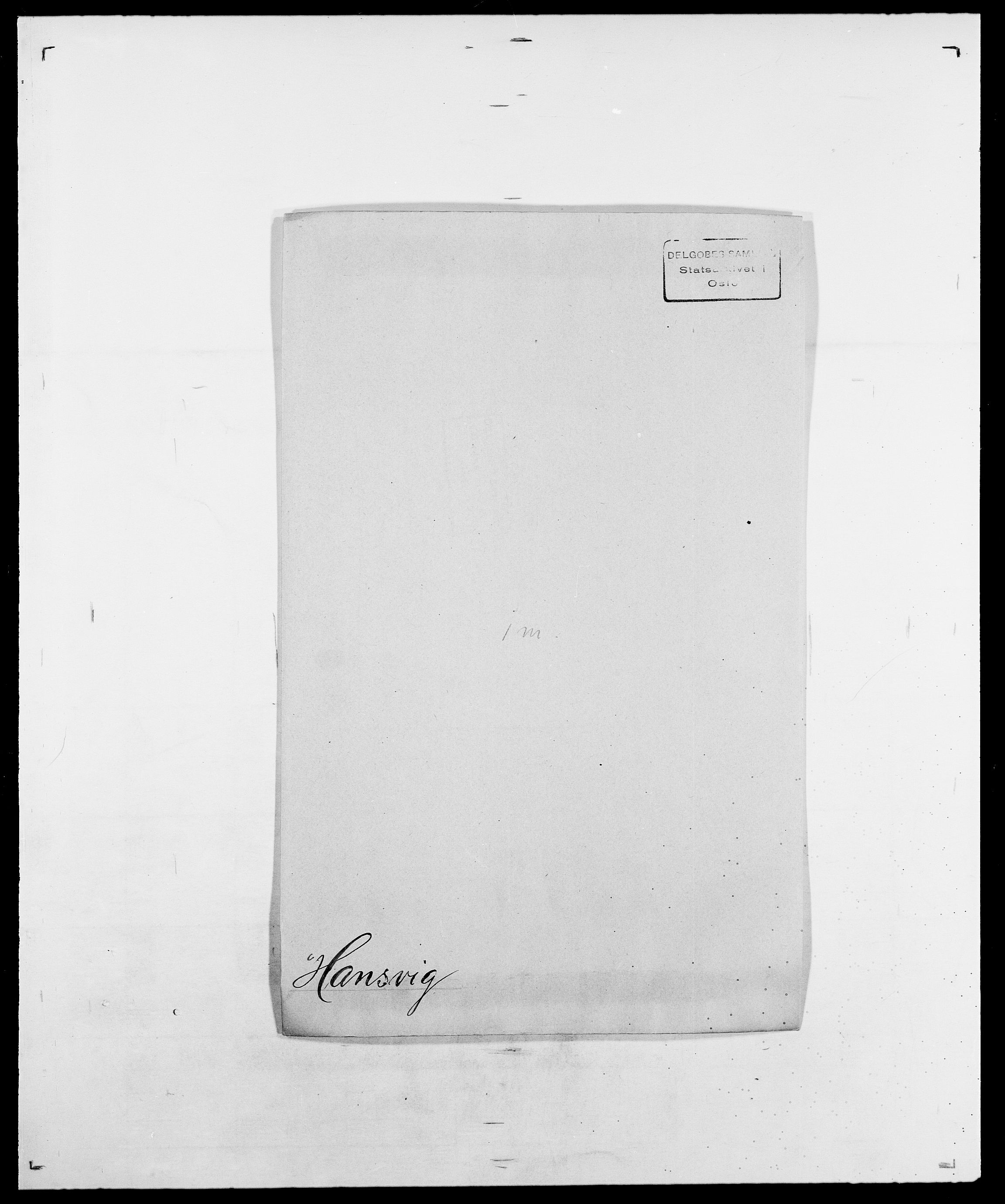 SAO, Delgobe, Charles Antoine - samling, D/Da/L0016: Hamborg - Hektoen, s. 357