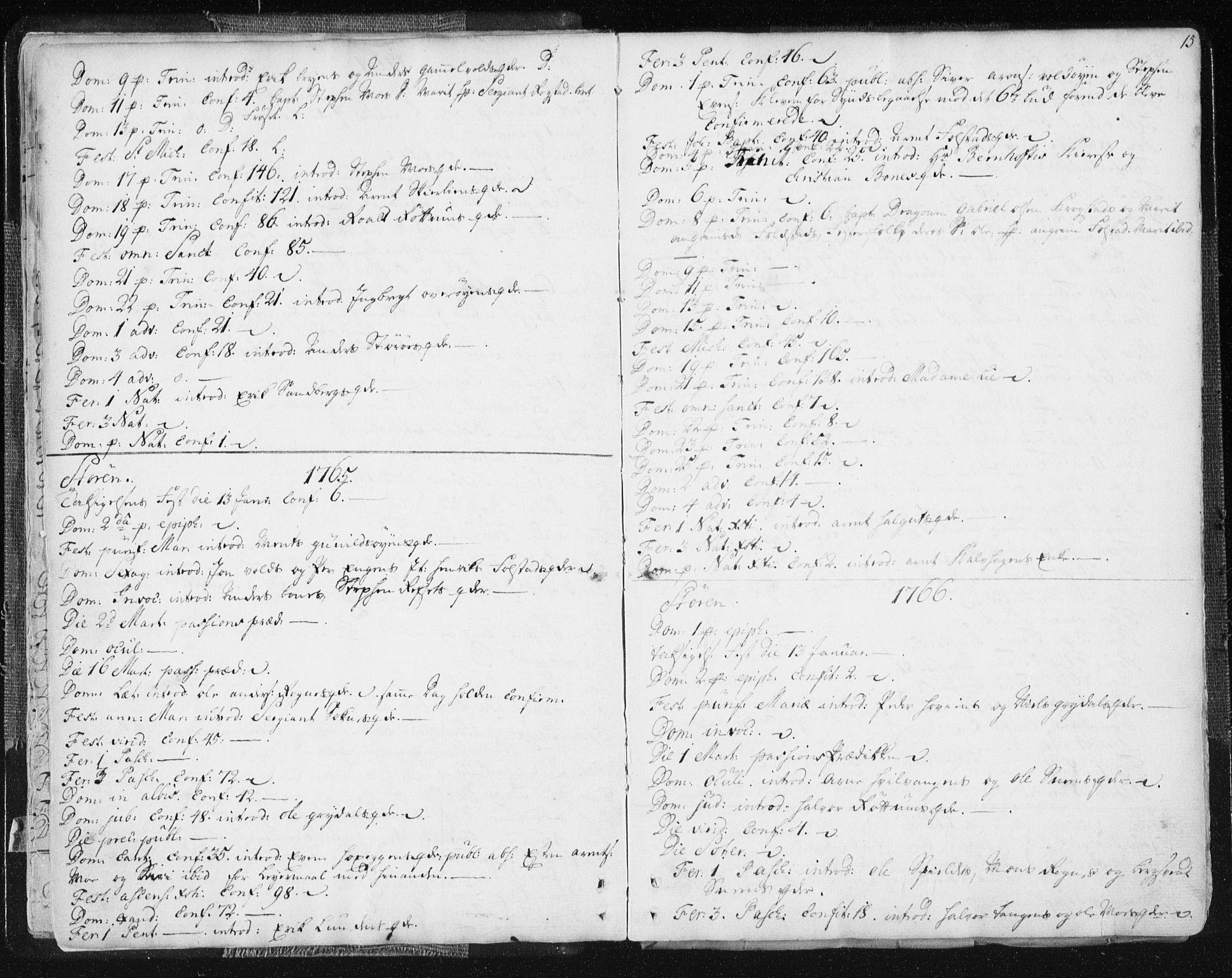 SAT, Ministerialprotokoller, klokkerbøker og fødselsregistre - Sør-Trøndelag, 687/L0991: Ministerialbok nr. 687A02, 1747-1790, s. 15