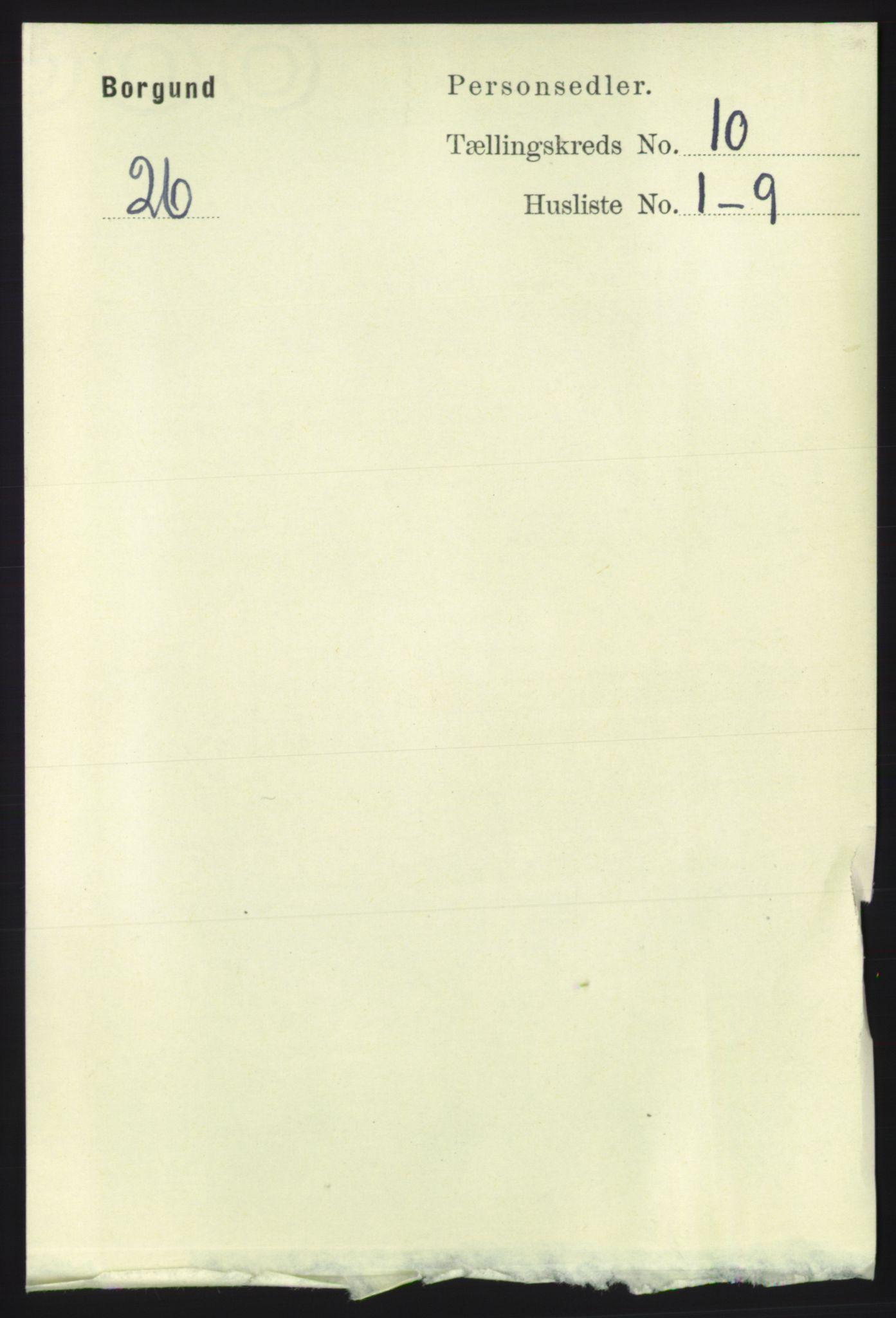 RA, Folketelling 1891 for 1531 Borgund herred, 1891, s. 2624