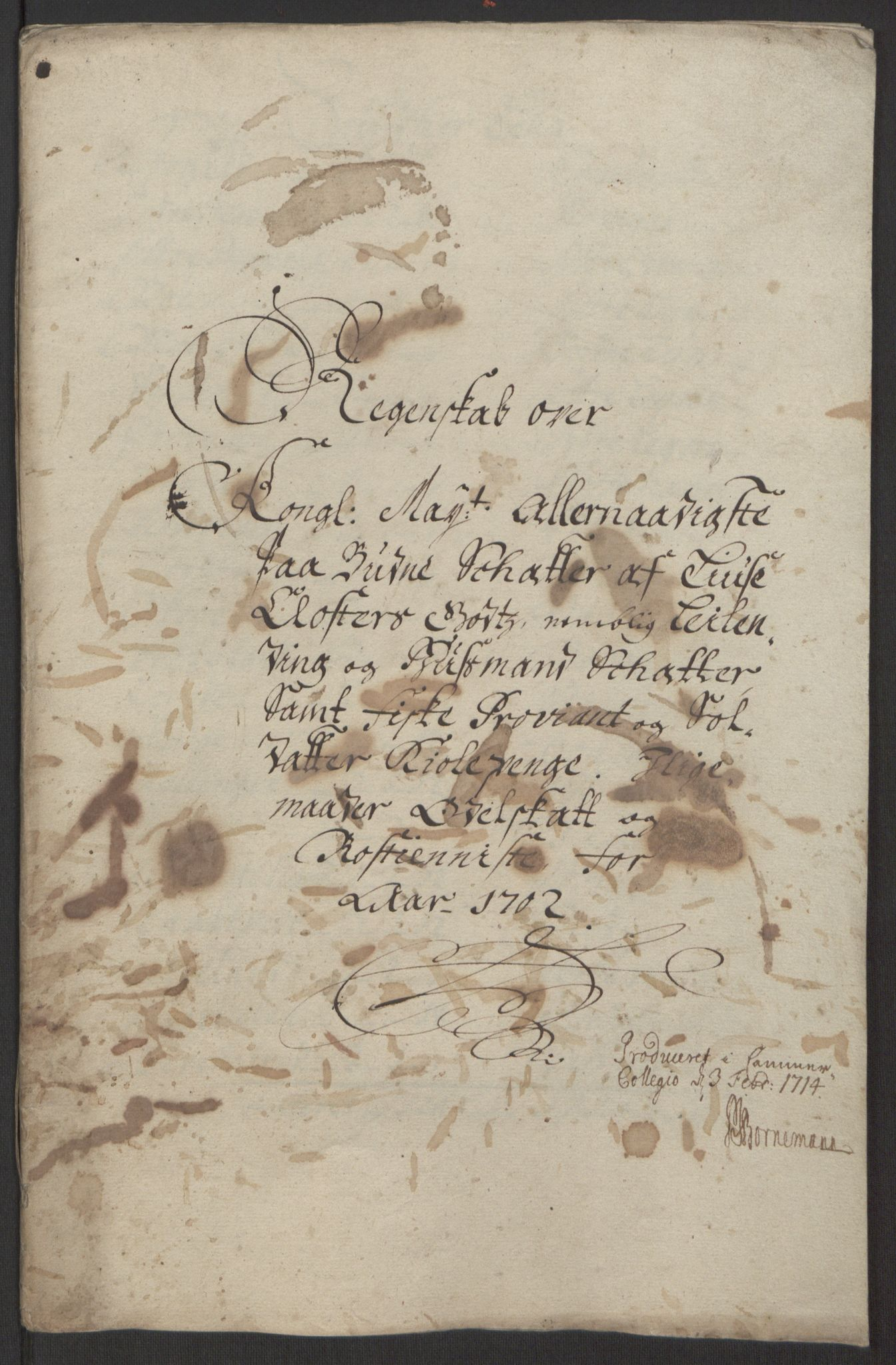 RA, Rentekammeret inntil 1814, Reviderte regnskaper, Fogderegnskap, R50/L3159: Fogderegnskap Lyse kloster, 1691-1709, s. 150