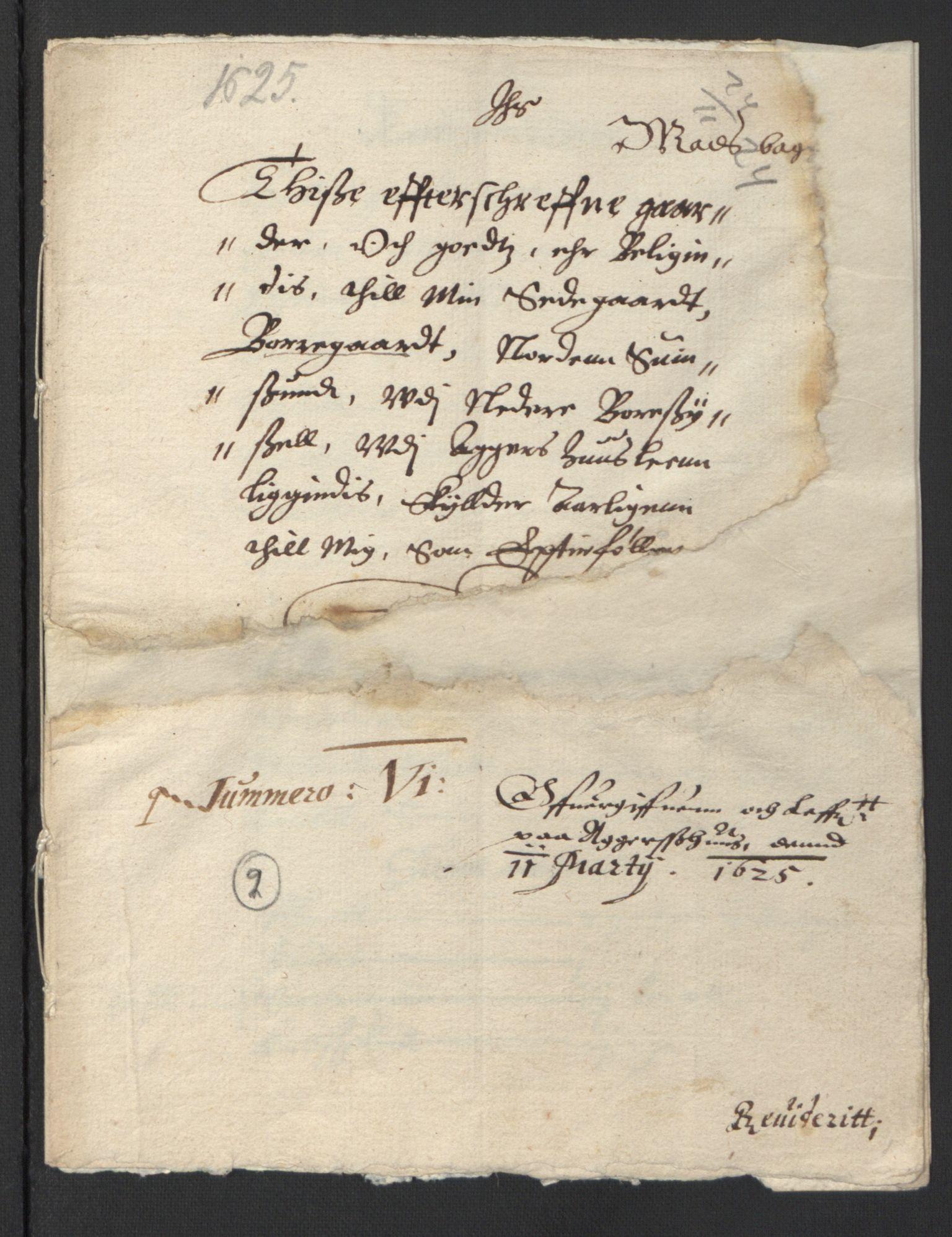 RA, Stattholderembetet 1572-1771, Ek/L0007: Jordebøker til utlikning av rosstjeneste 1624-1626:, 1624-1625, s. 197