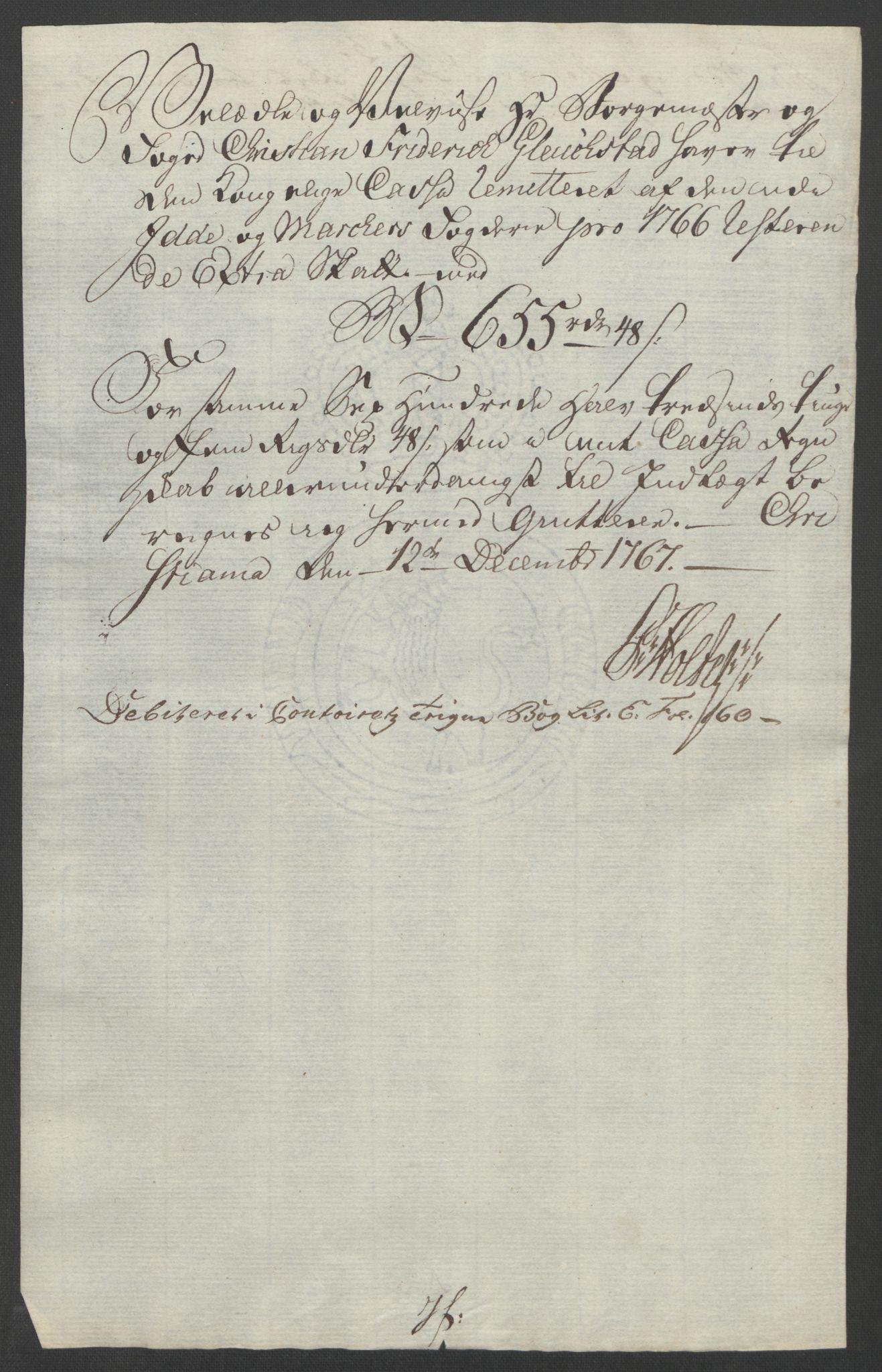 RA, Rentekammeret inntil 1814, Reviderte regnskaper, Fogderegnskap, R01/L0097: Ekstraskatten Idd og Marker, 1756-1767, s. 290